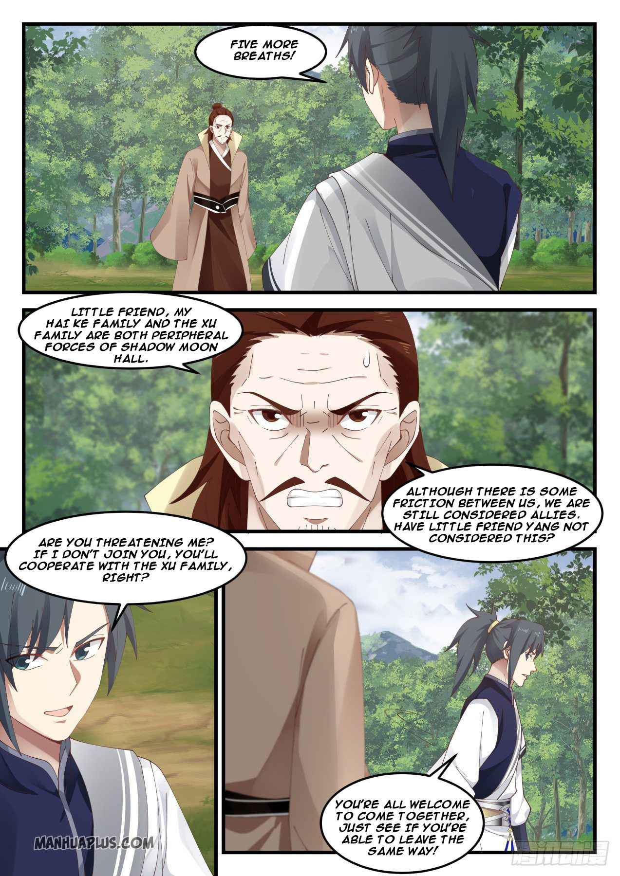 Martial Peak - chapter 1025-eng-li