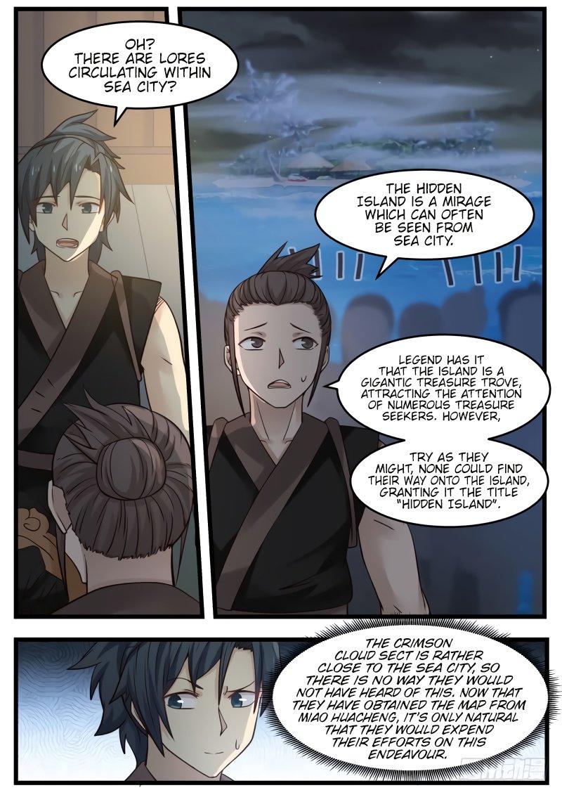 Martial Peak - chapter 105.miao.lin-eng-li