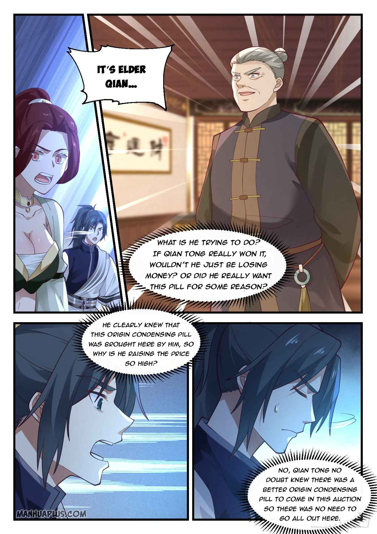 Martial Peak - chapter 1054-eng-li