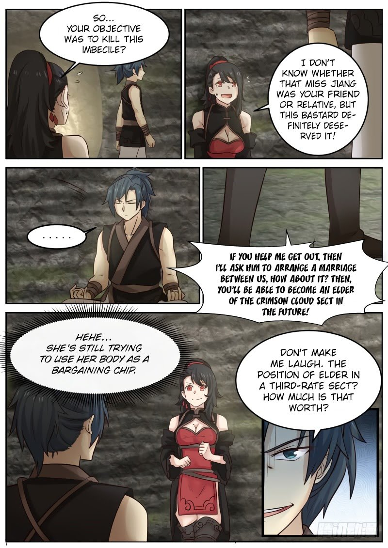Martial Peak - chapter 113-eng-li