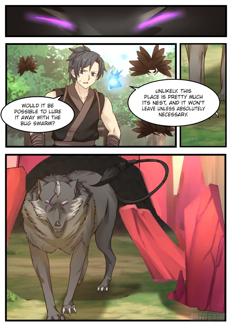 Martial Peak - chapter 121-eng-li