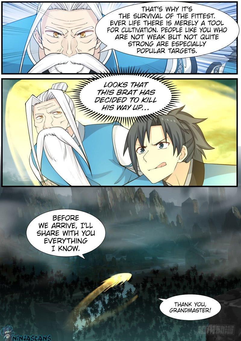 Martial Peak - chapter 142-eng-li
