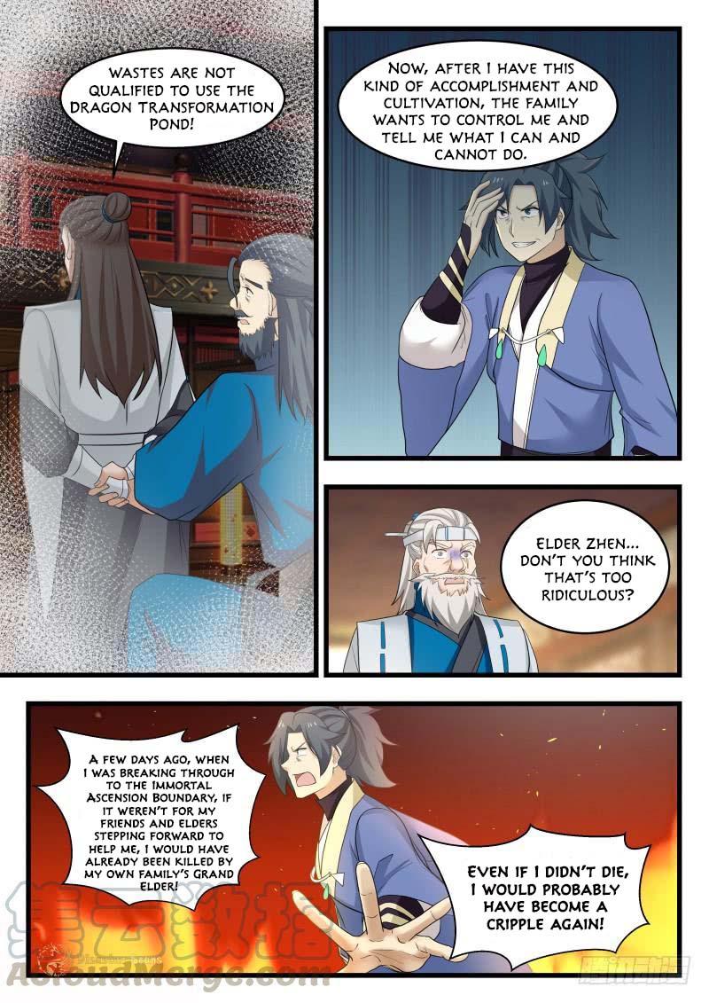 Martial Peak - chapter 491-eng-li