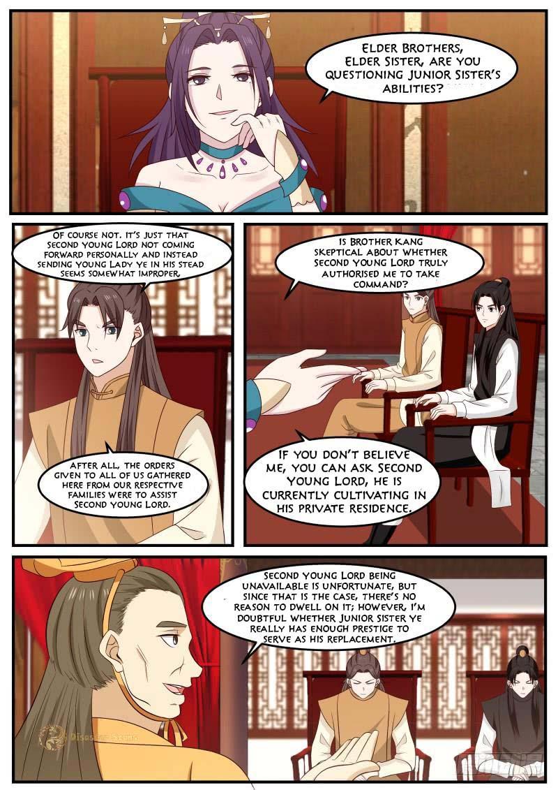 Martial Peak - chapter 496-eng-li