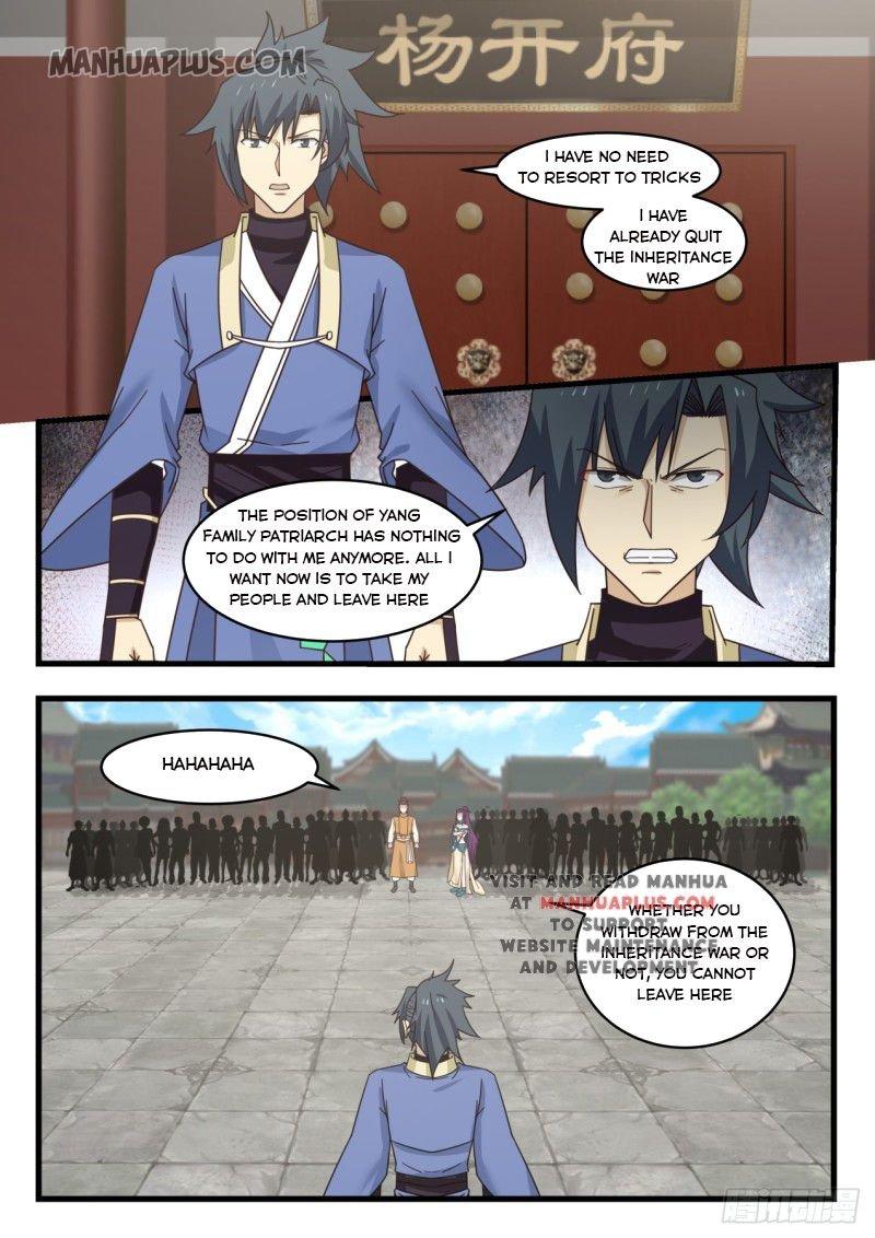 Martial Peak - chapter 522-eng-li