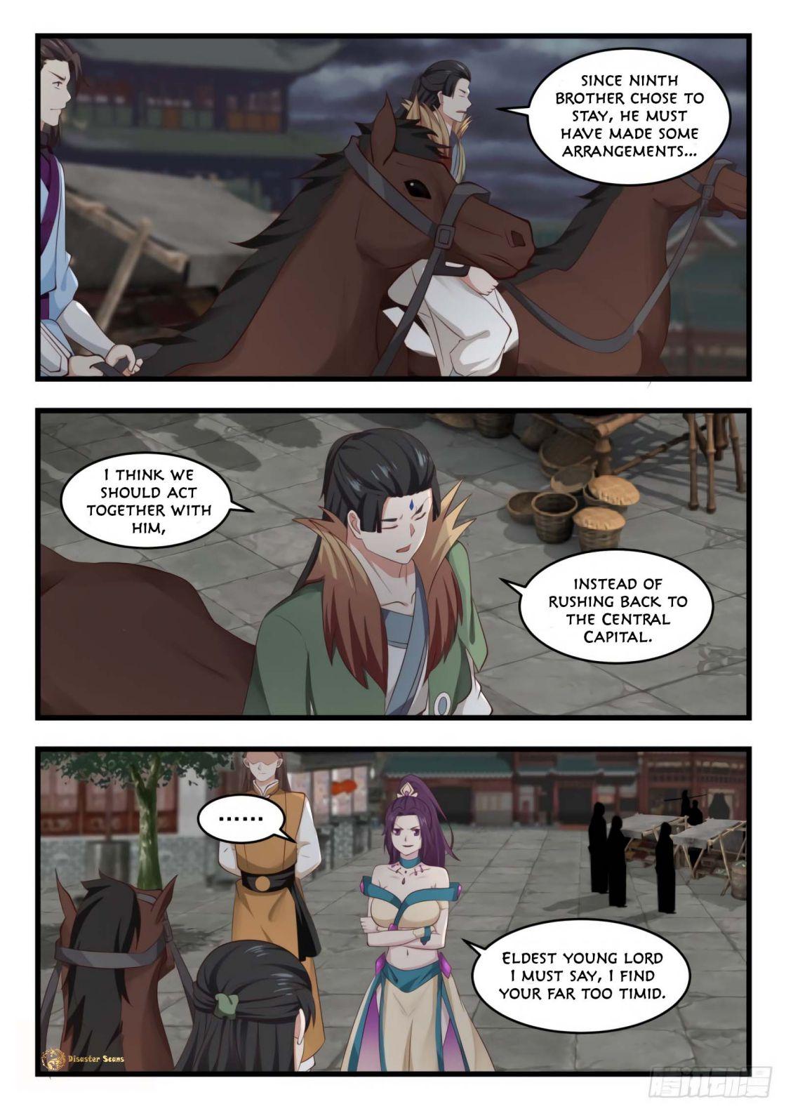 Martial Peak - chapter 526-eng-li