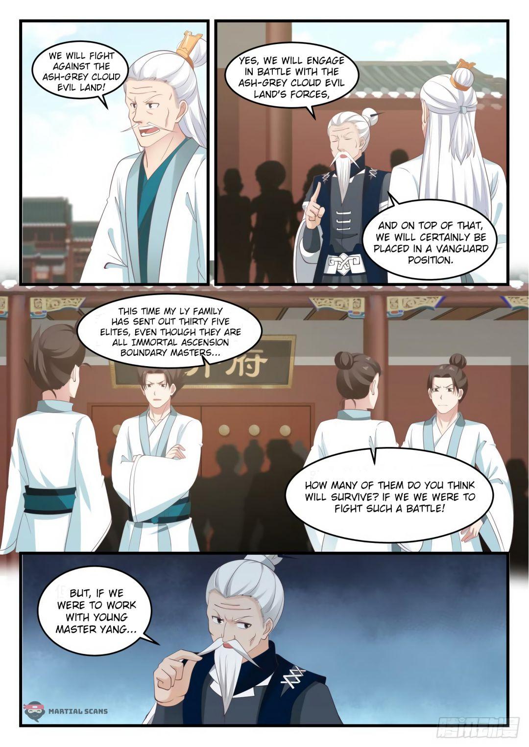 Martial Peak - chapter 542-eng-li