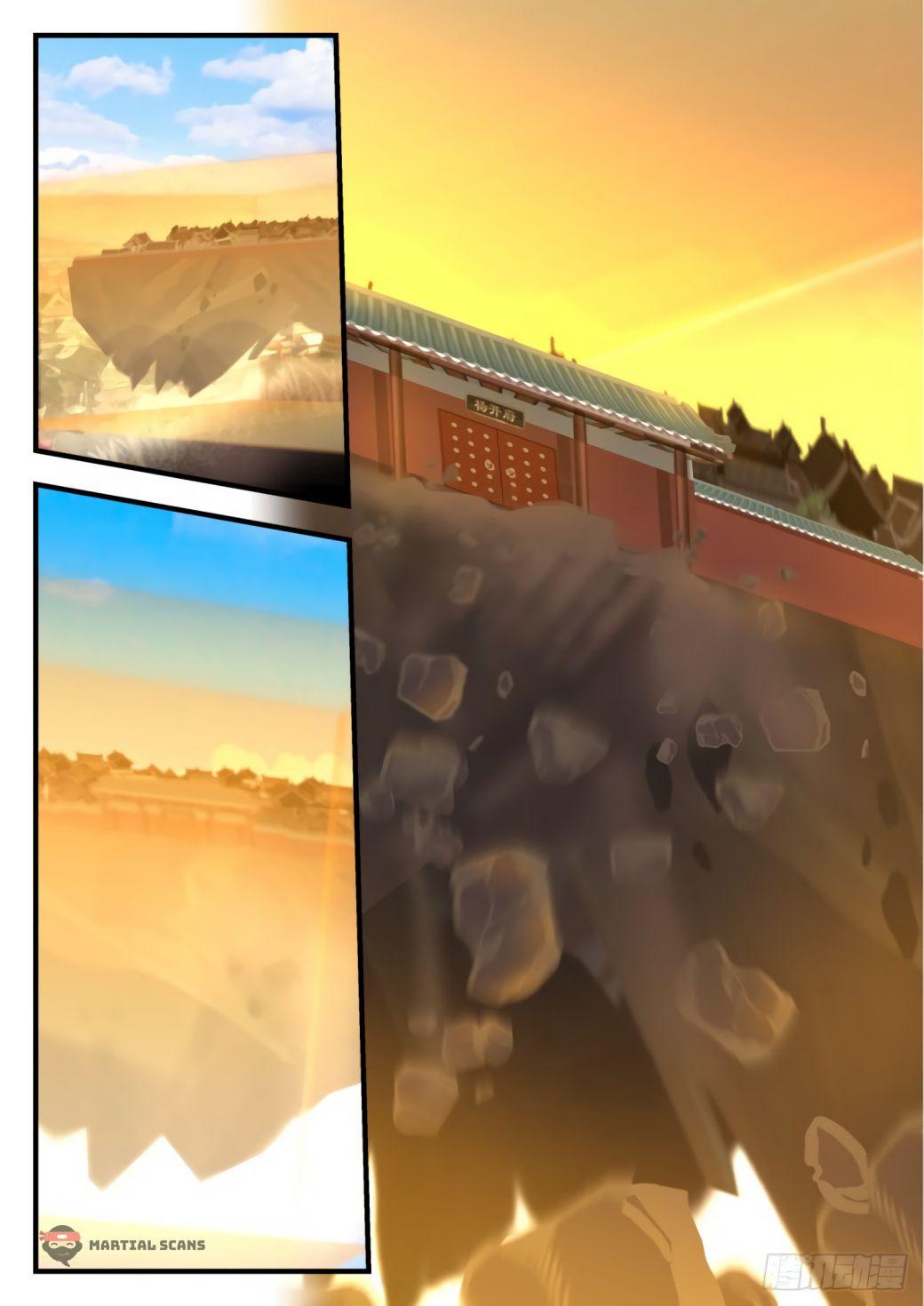 Martial Peak - chapter 543-eng-li