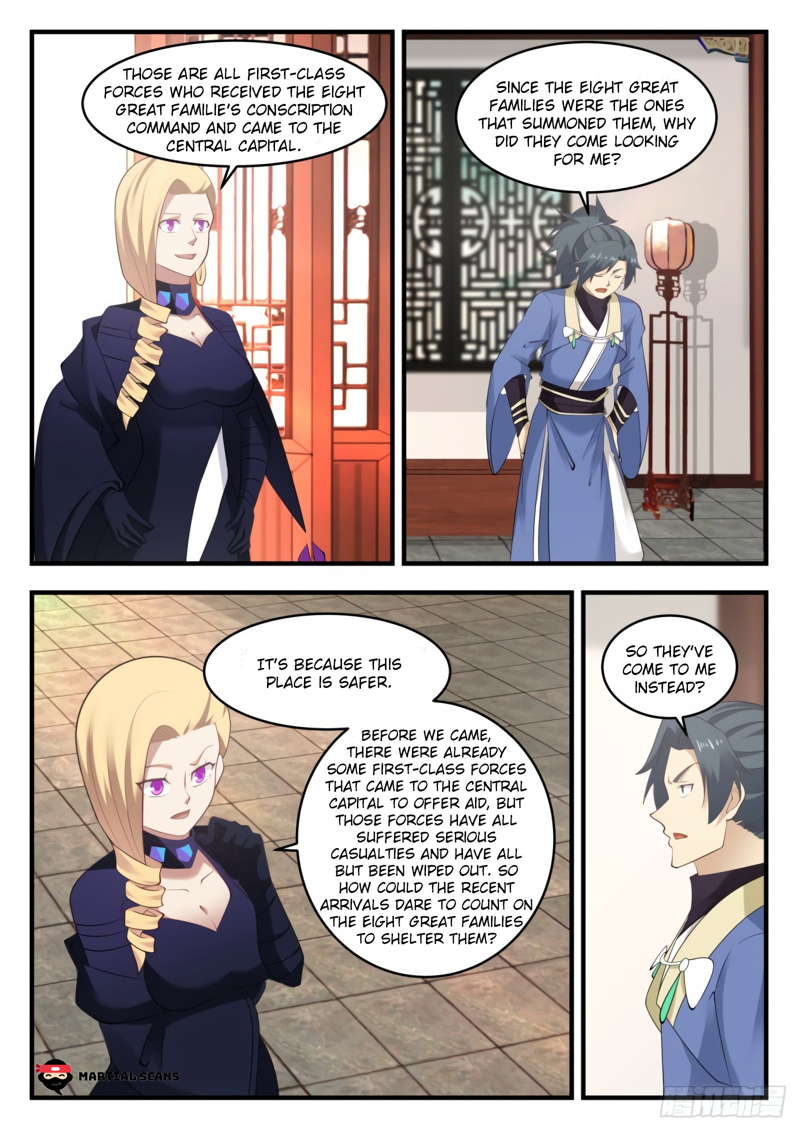 Martial Peak - chapter 548-eng-li
