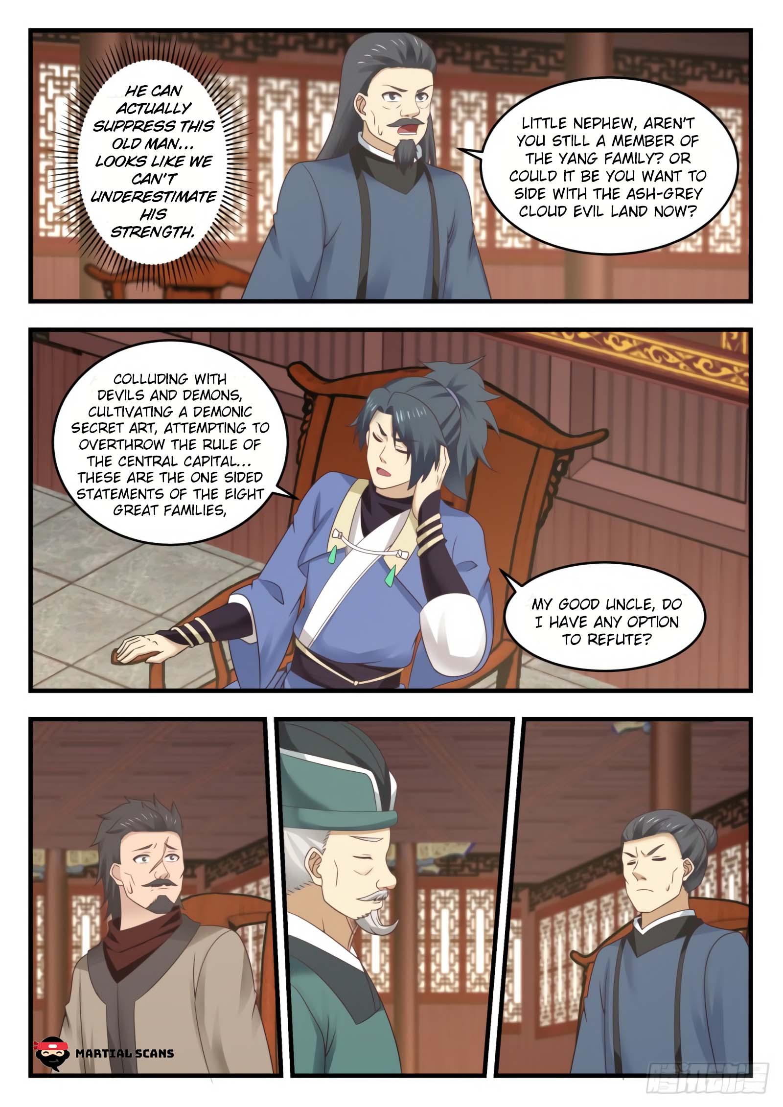 Martial Peak - chapter 549-eng-li