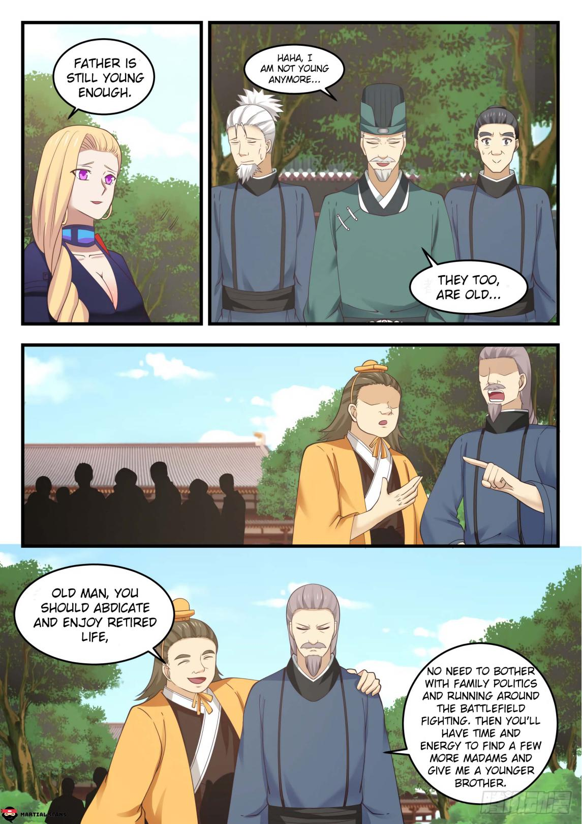 Martial Peak - chapter 550-eng-li