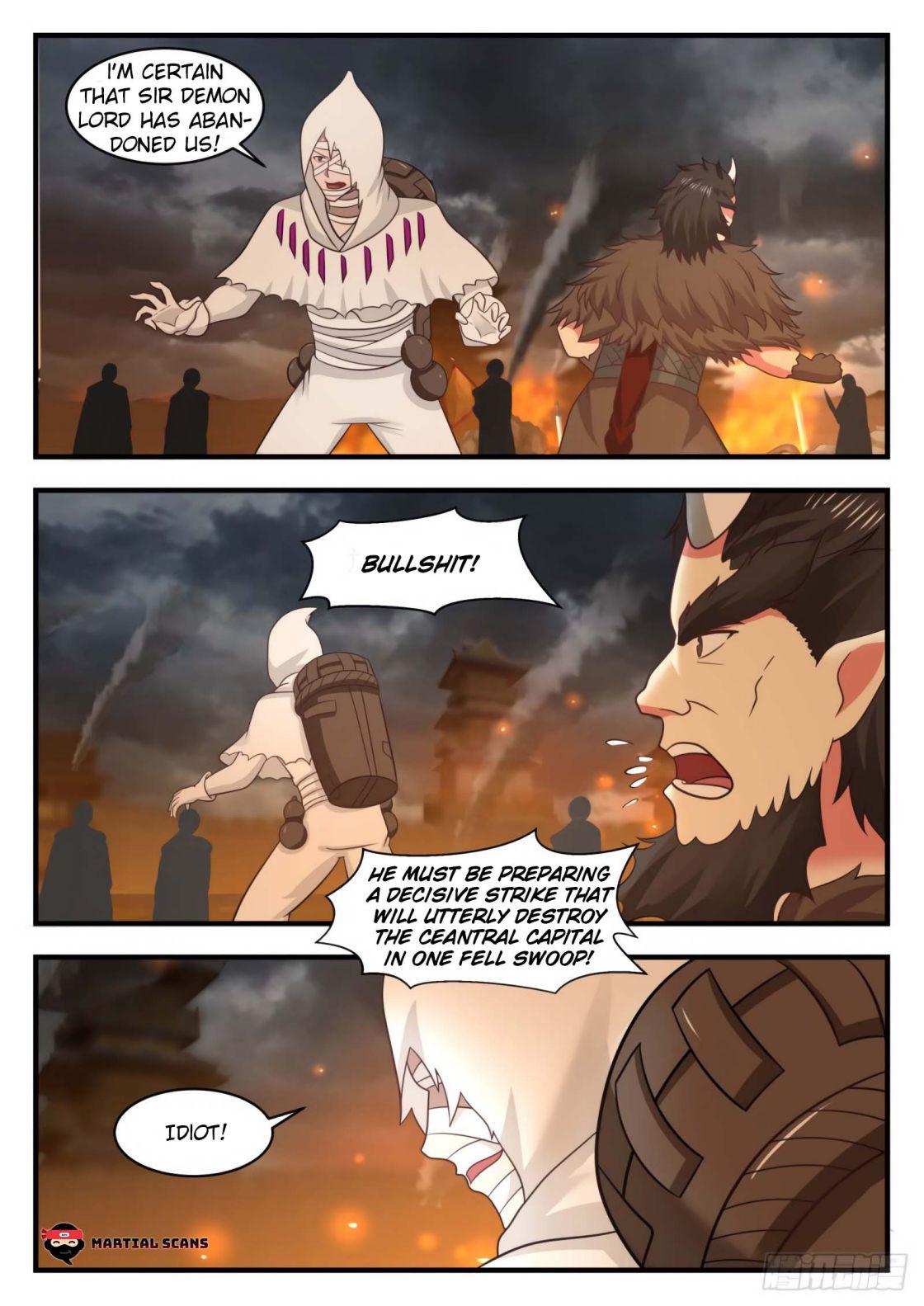 Martial Peak - chapter 558-eng-li