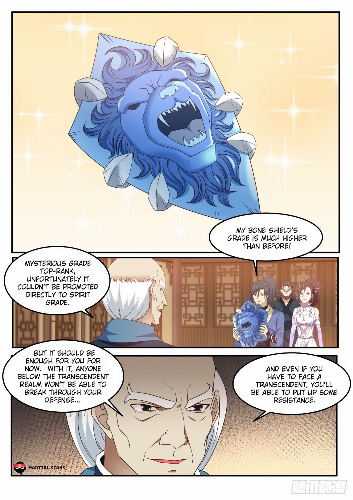Martial Peak - chapter 594-eng-li