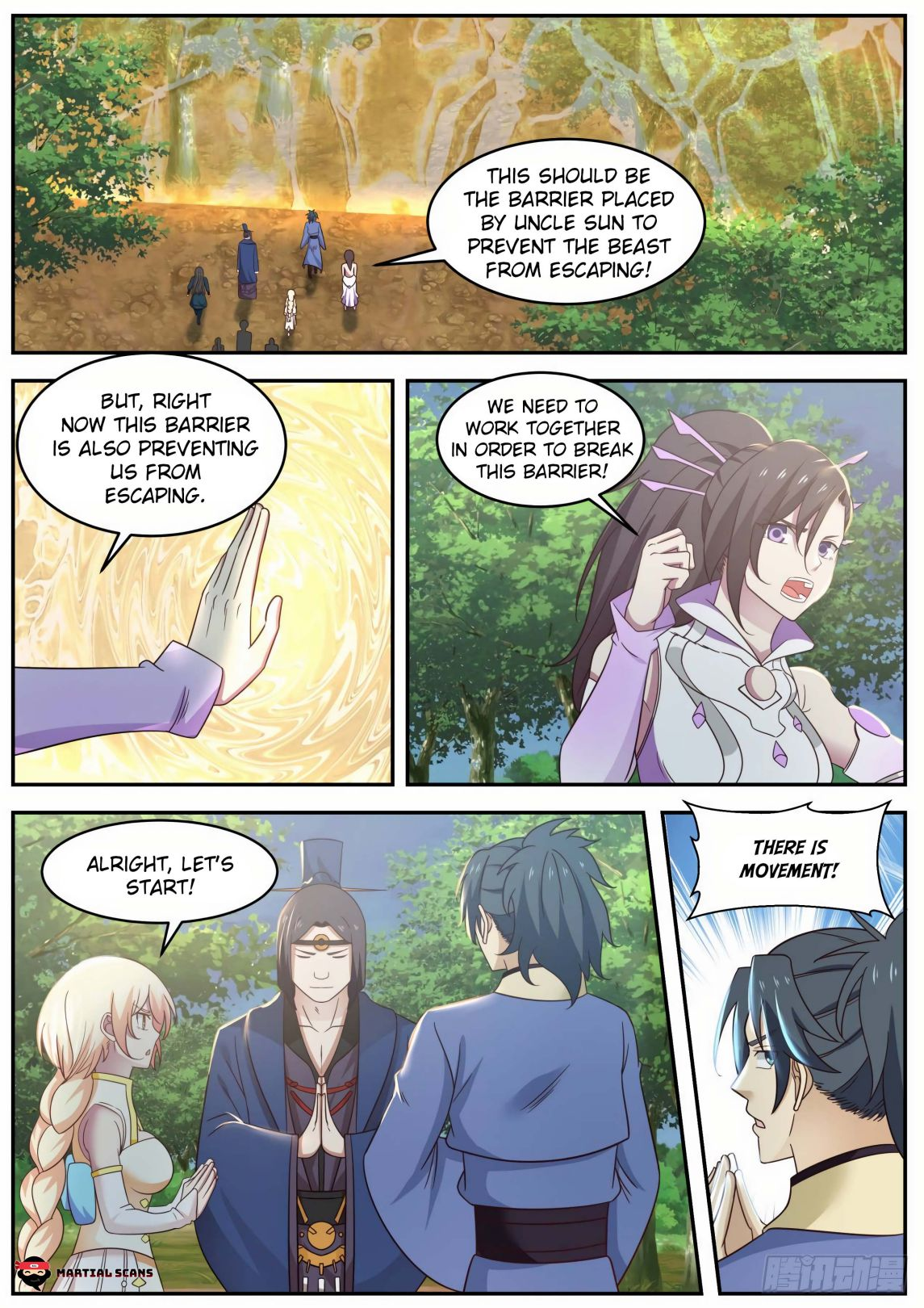Martial Peak - chapter 602-eng-li