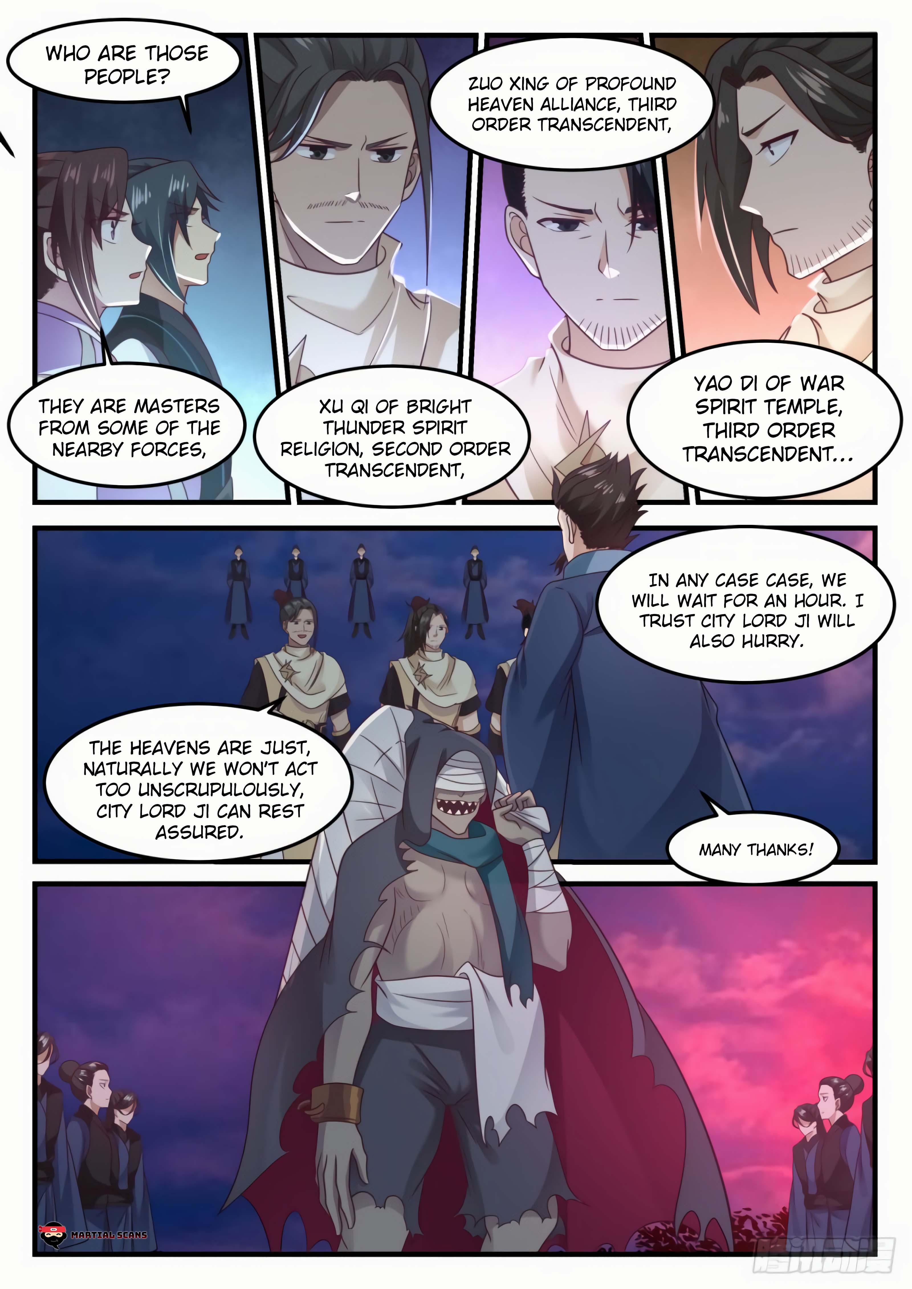 Martial Peak - chapter 610-eng-li