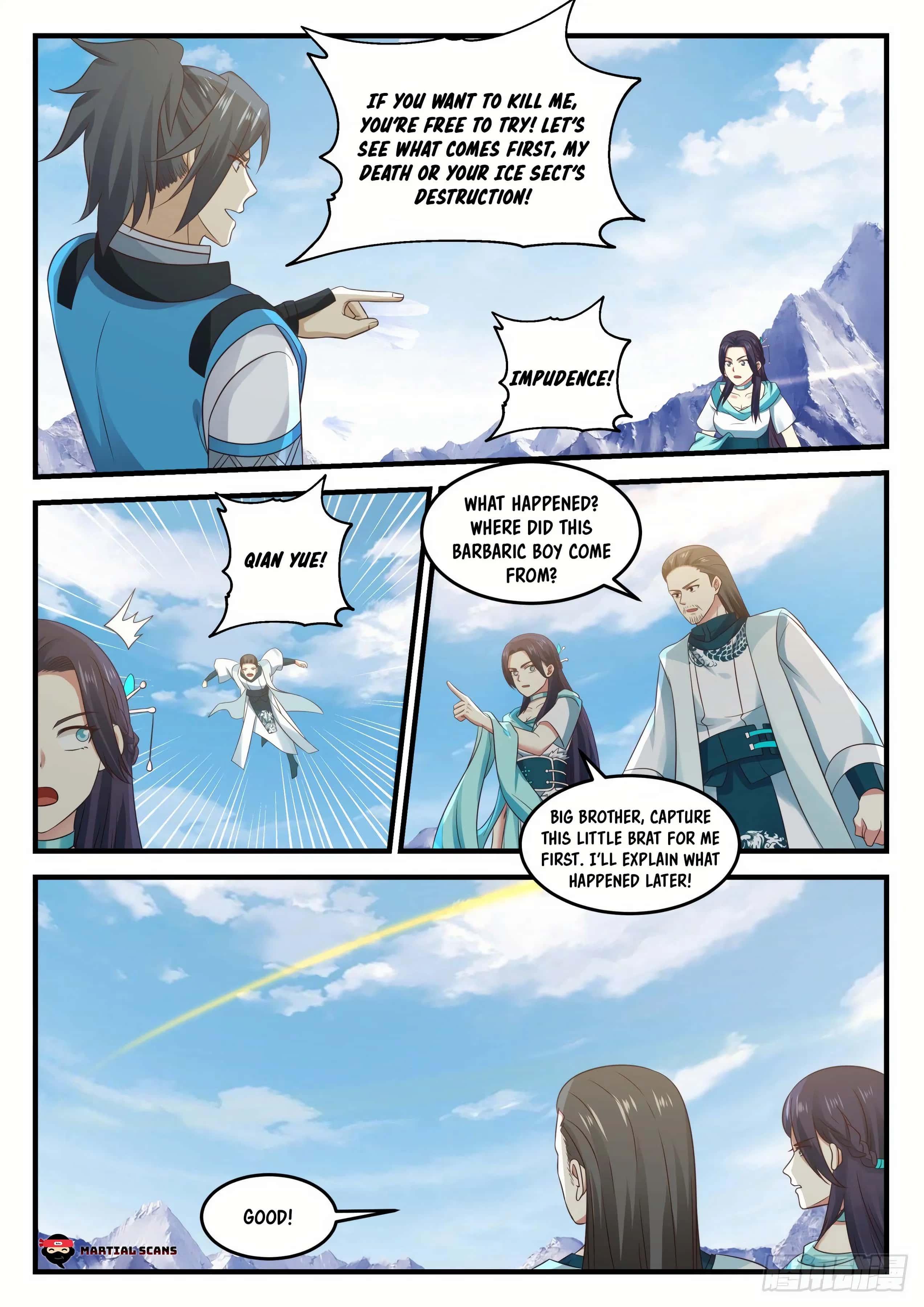 Martial Peak - chapter 694-eng-li