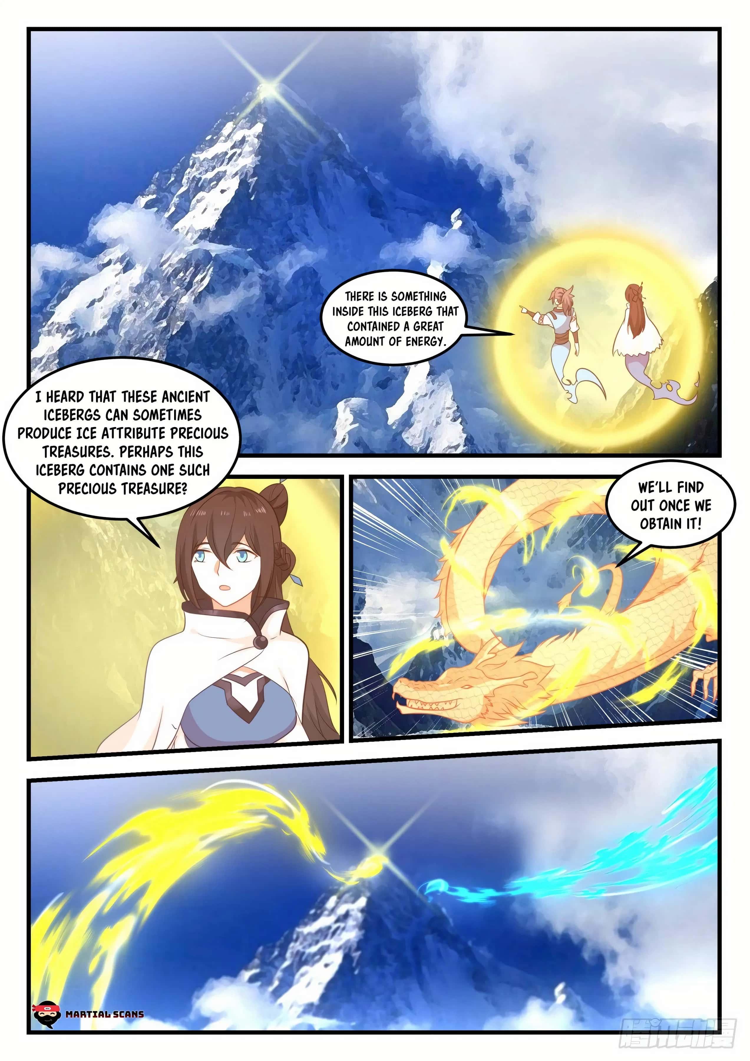 Martial Peak - chapter 697-eng-li