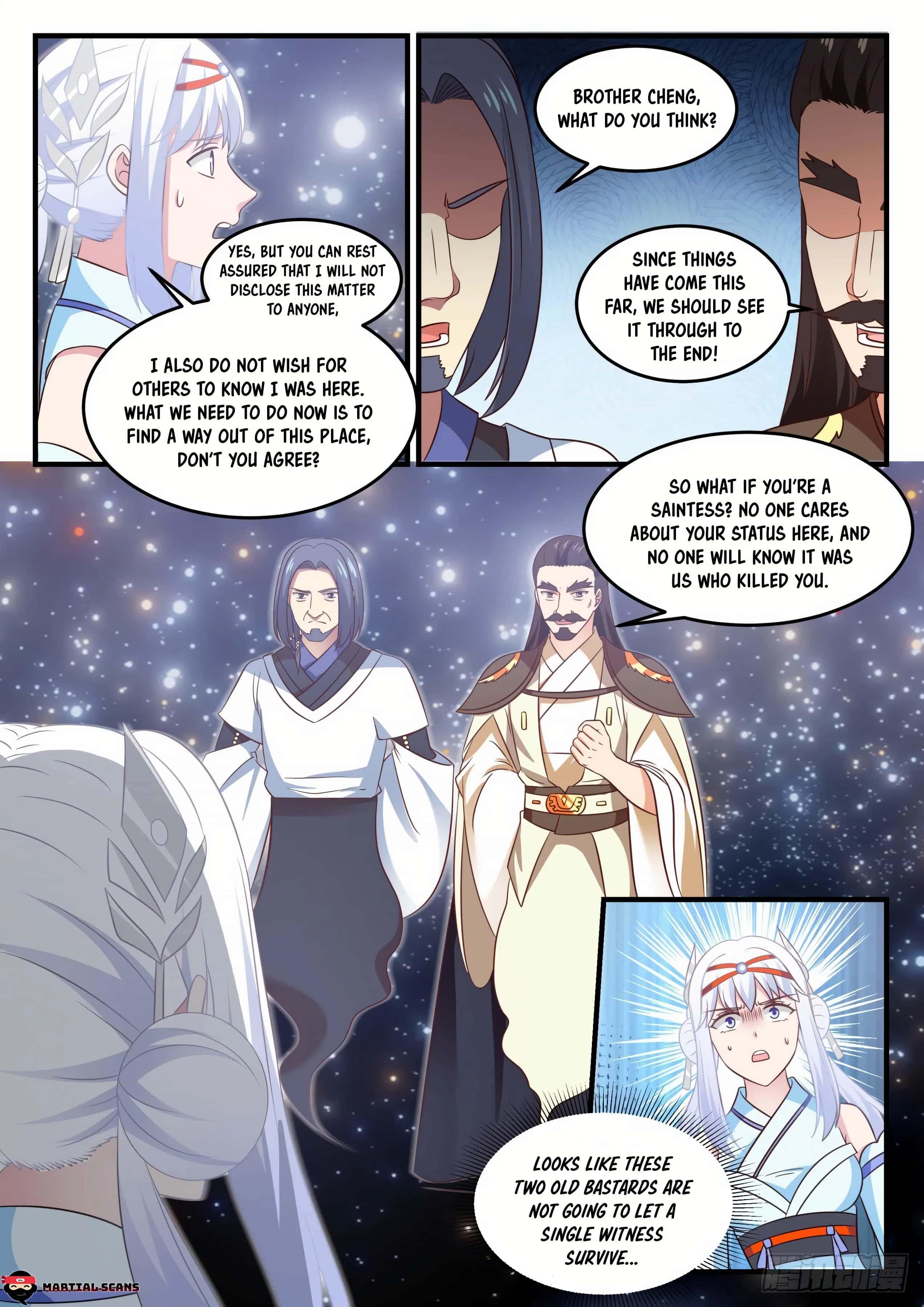 Martial Peak - chapter 705-eng-li