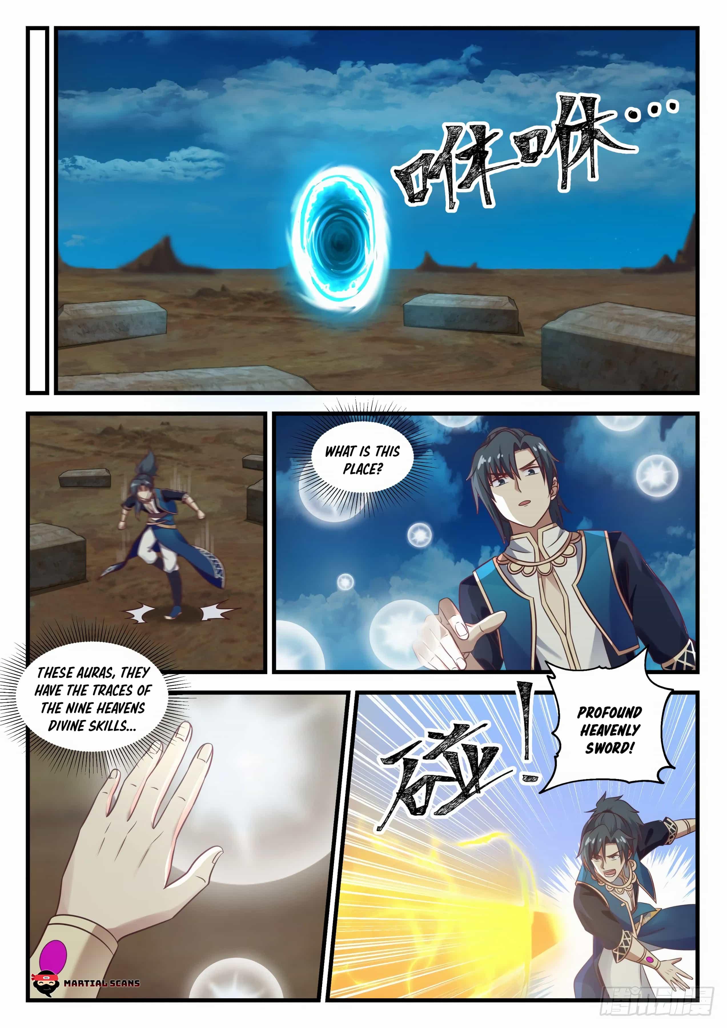 Martial Peak - chapter 719-eng-li