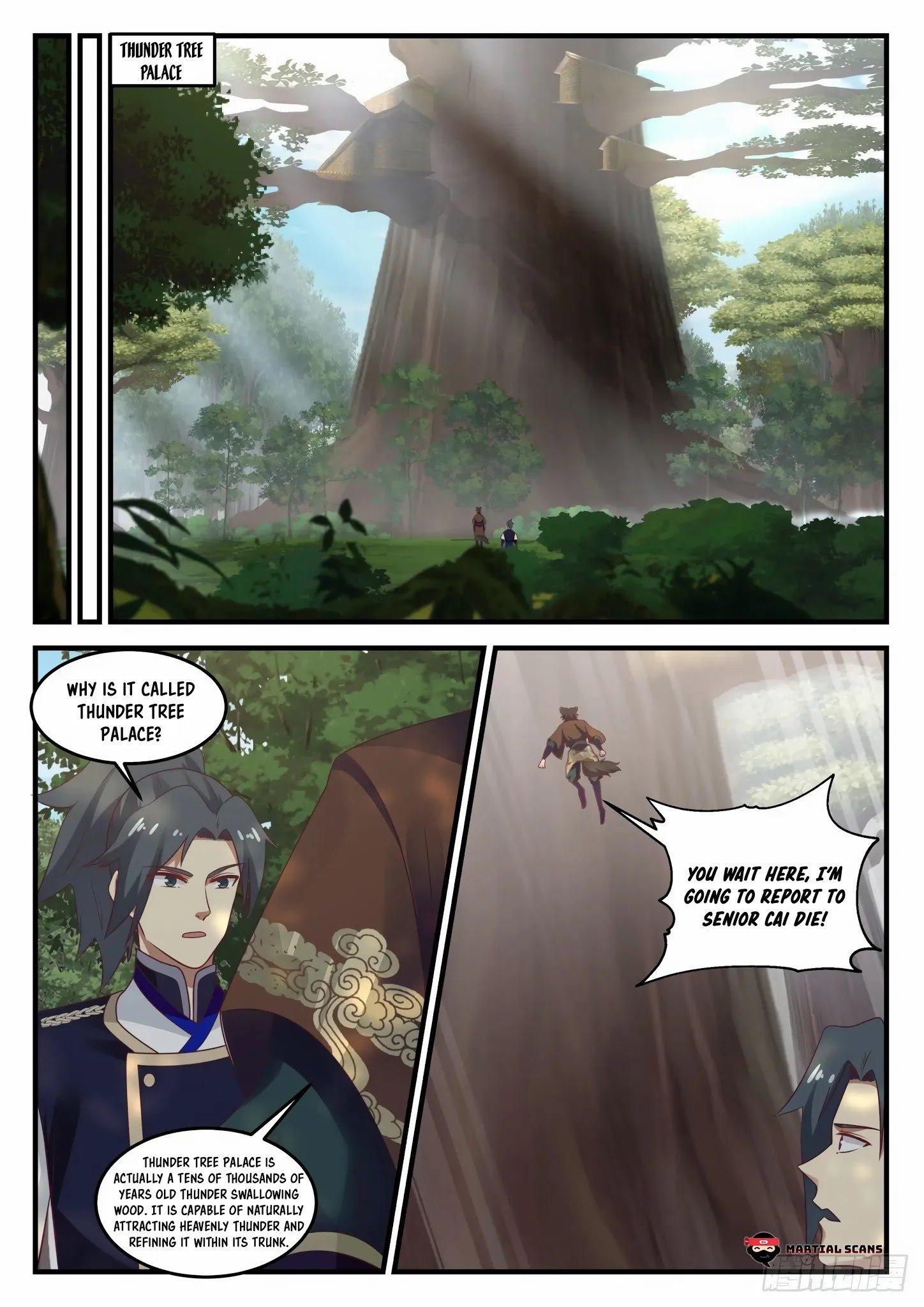 Martial Peak - chapter 722-eng-li