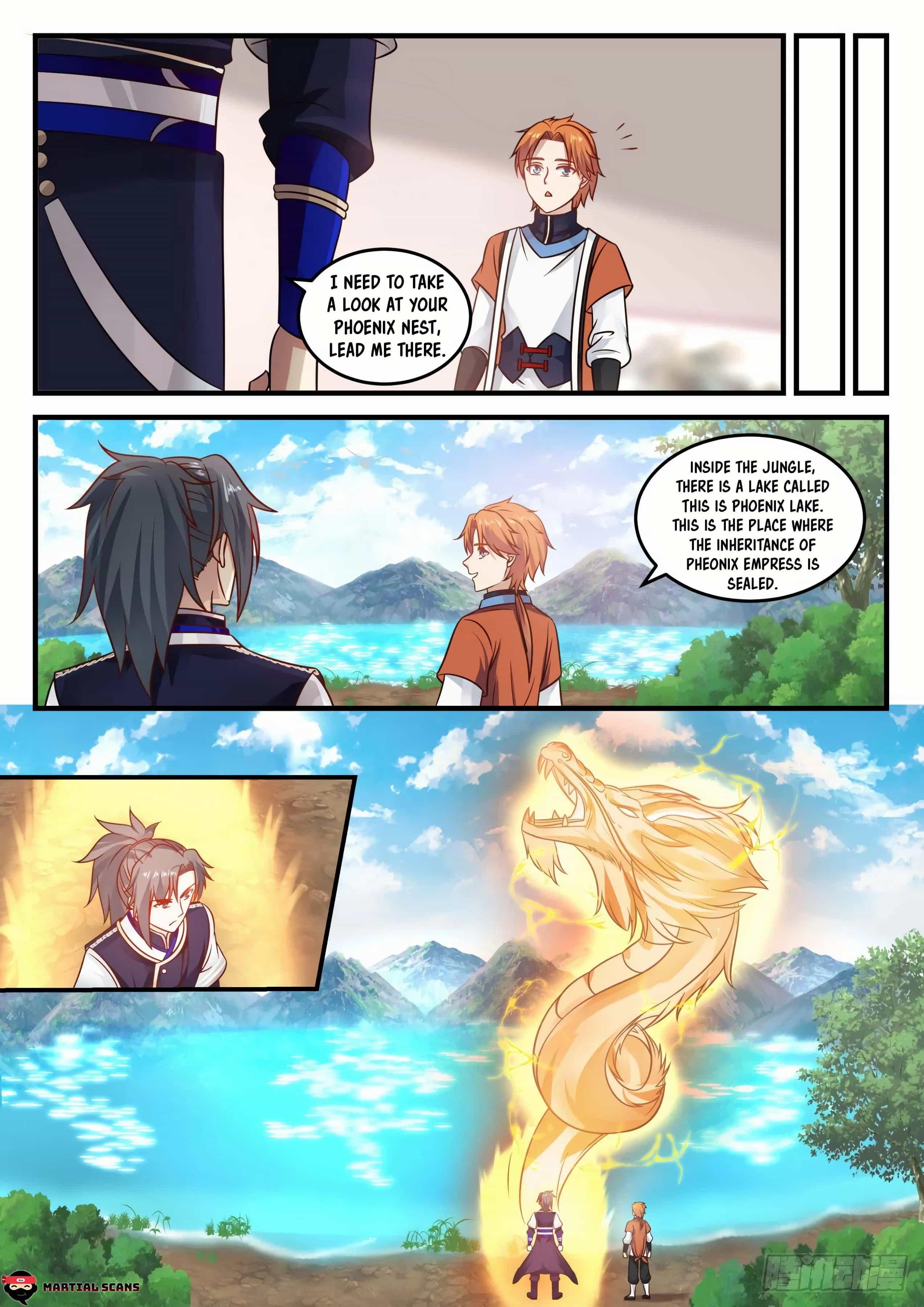 Martial Peak - chapter 730-eng-li
