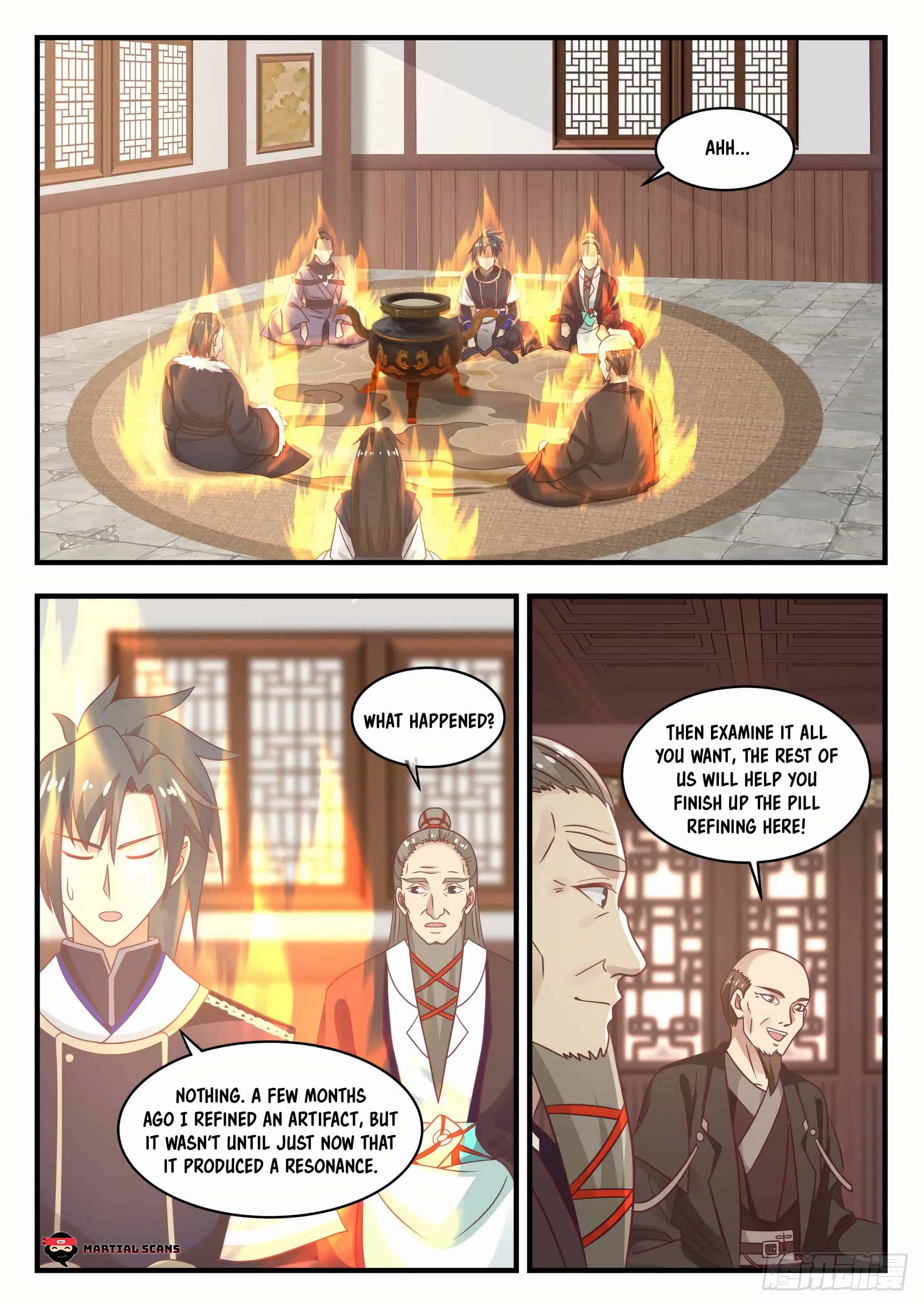 Martial Peak - chapter 750-eng-li
