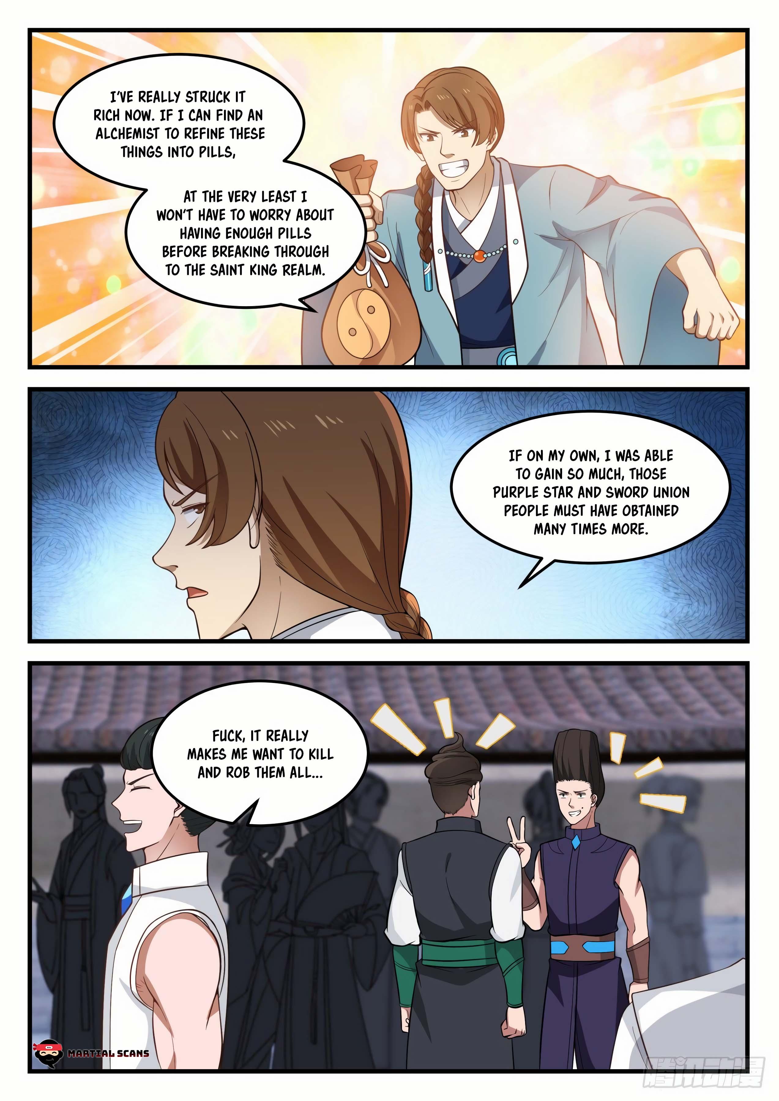 Martial Peak - chapter 871-eng-li