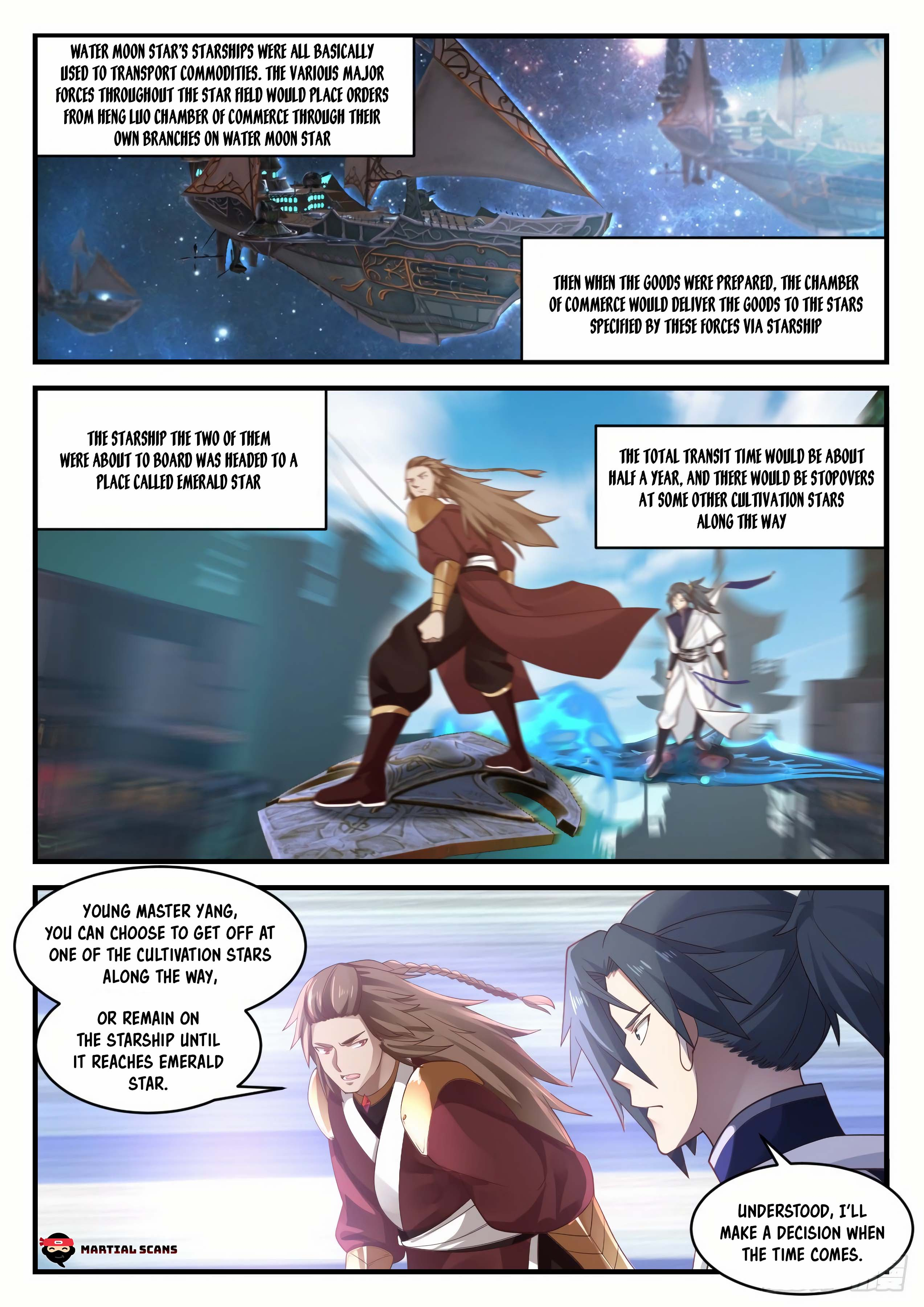 Martial Peak - chapter 913-eng-li
