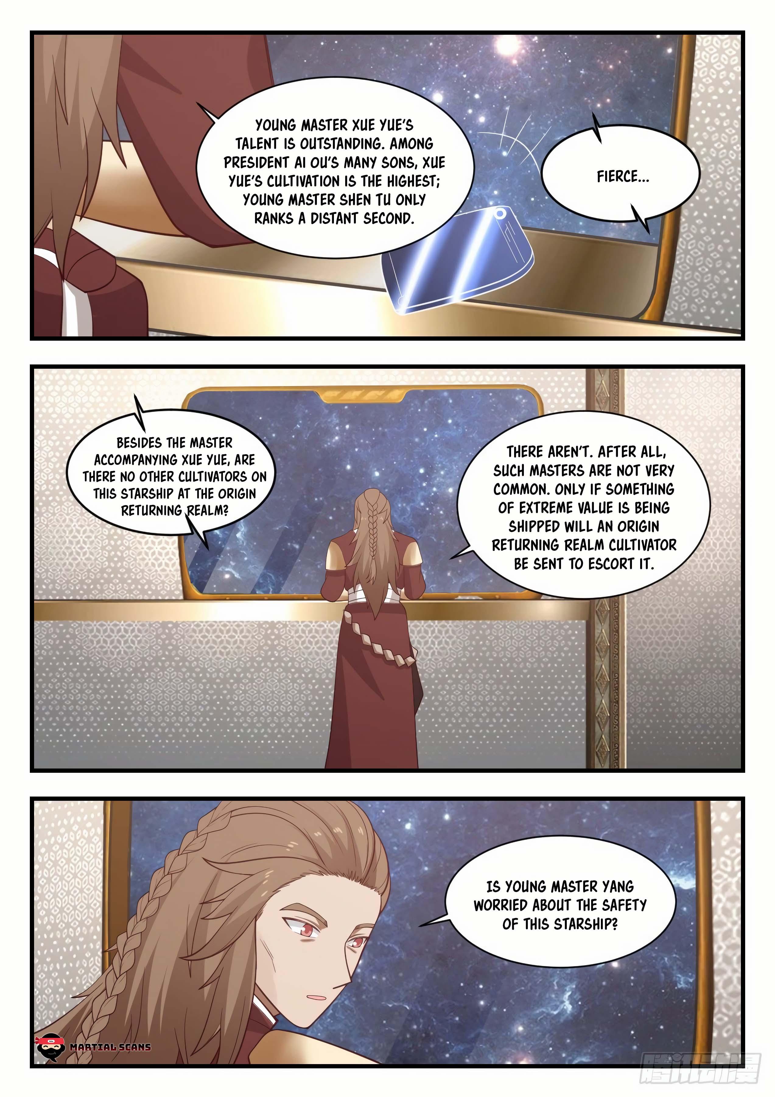 Martial Peak - chapter 915-eng-li