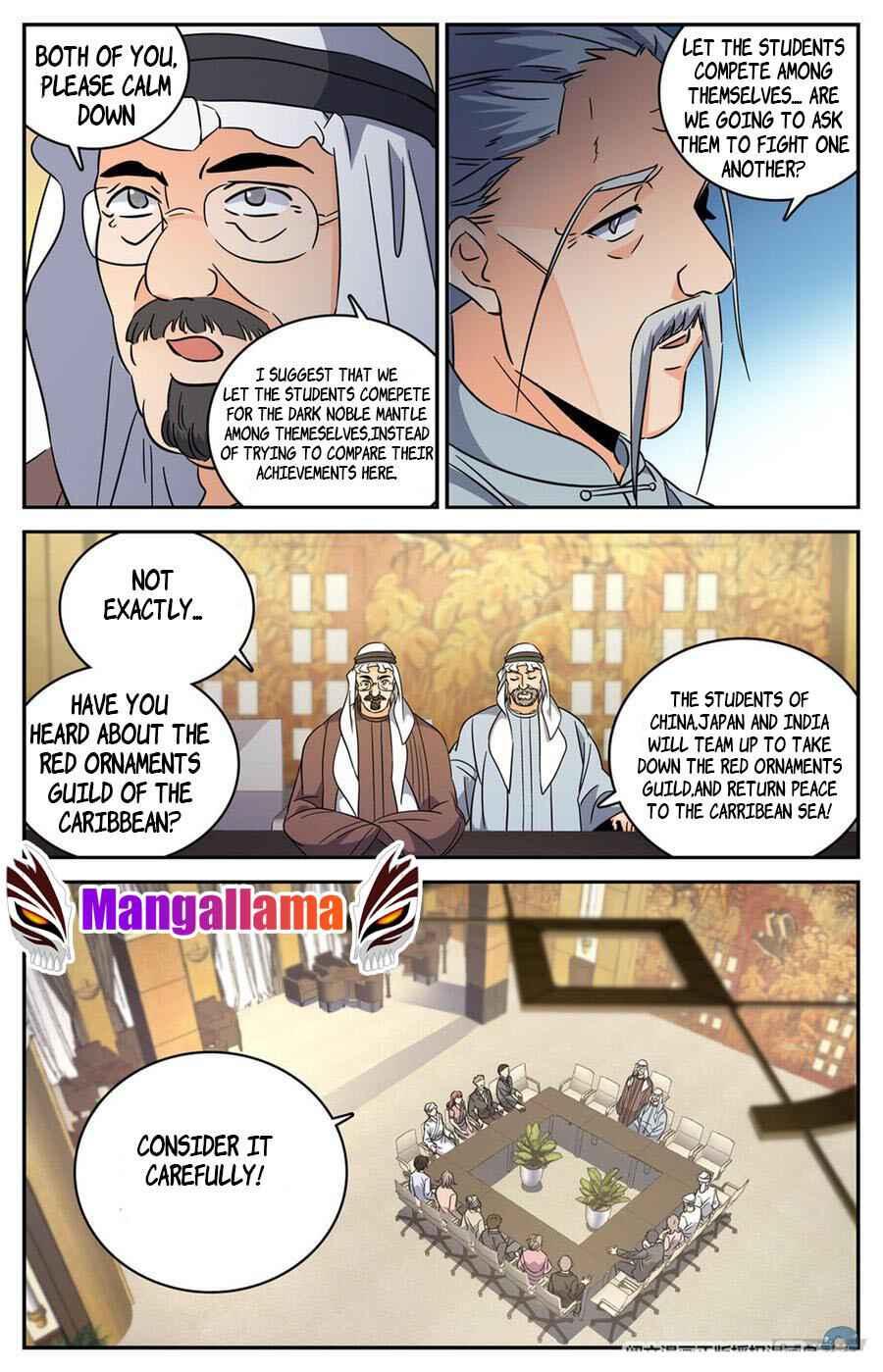 Versatile Mage - chapter 619-eng-li