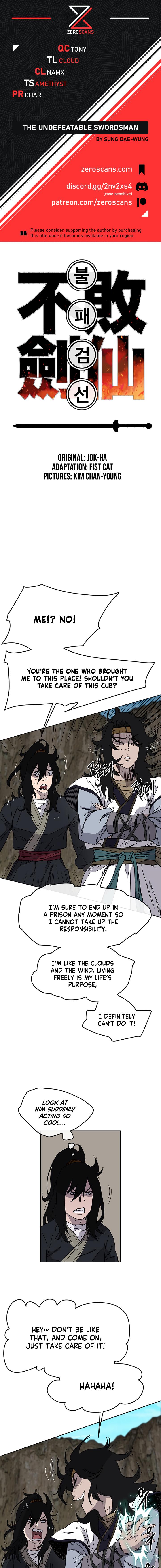 The Undefeatable Swordsman - chapter 16-eng-li