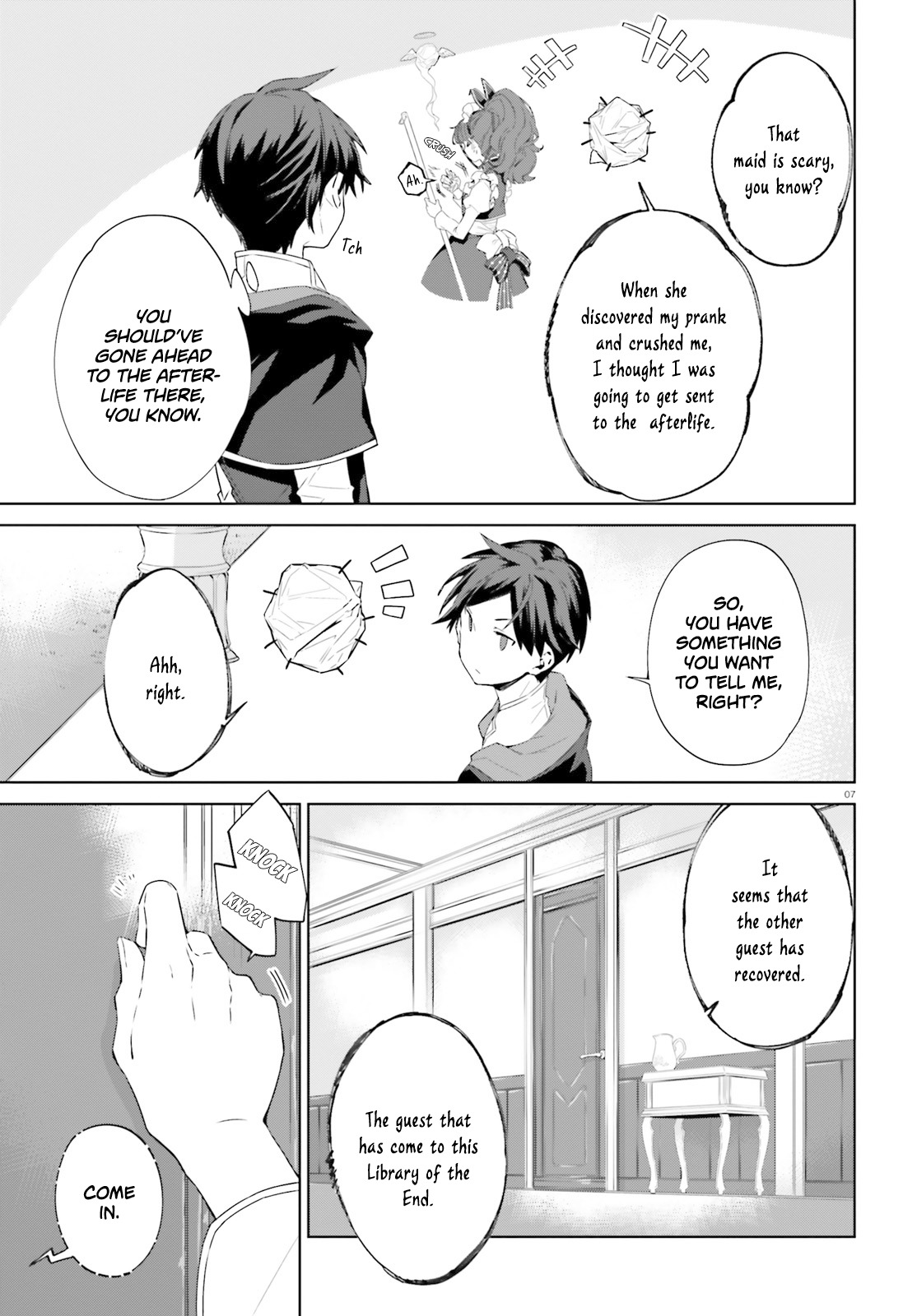 Kagami no Mukou no Saihate Toshokan - chapter 5-eng-li