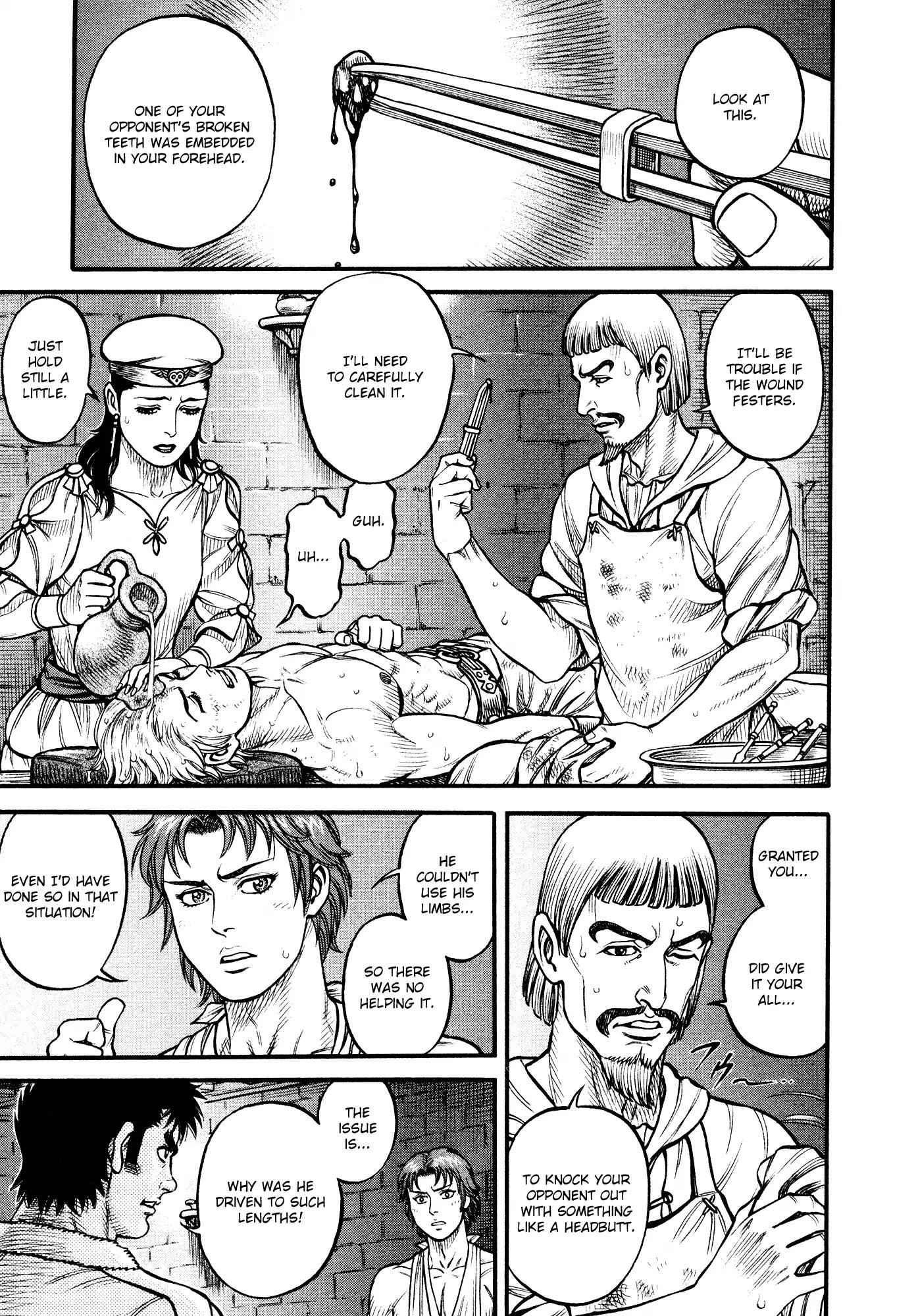 Kento Ankokuden Cestvs - chapter 142-eng-li
