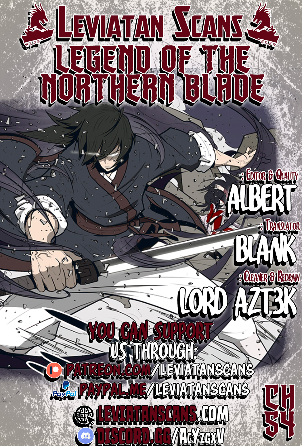 Legend of the Northern Blade - chapter 54-eng-li
