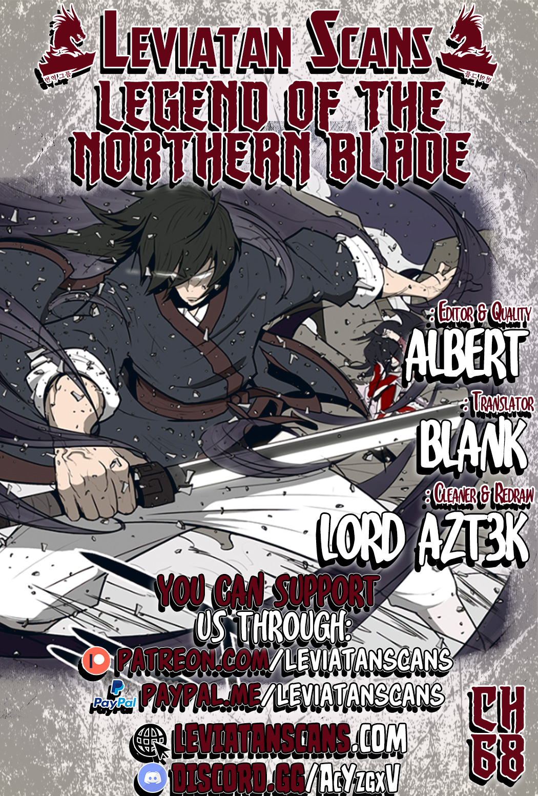 Legend of the Northern Blade - chapter 68-eng-li