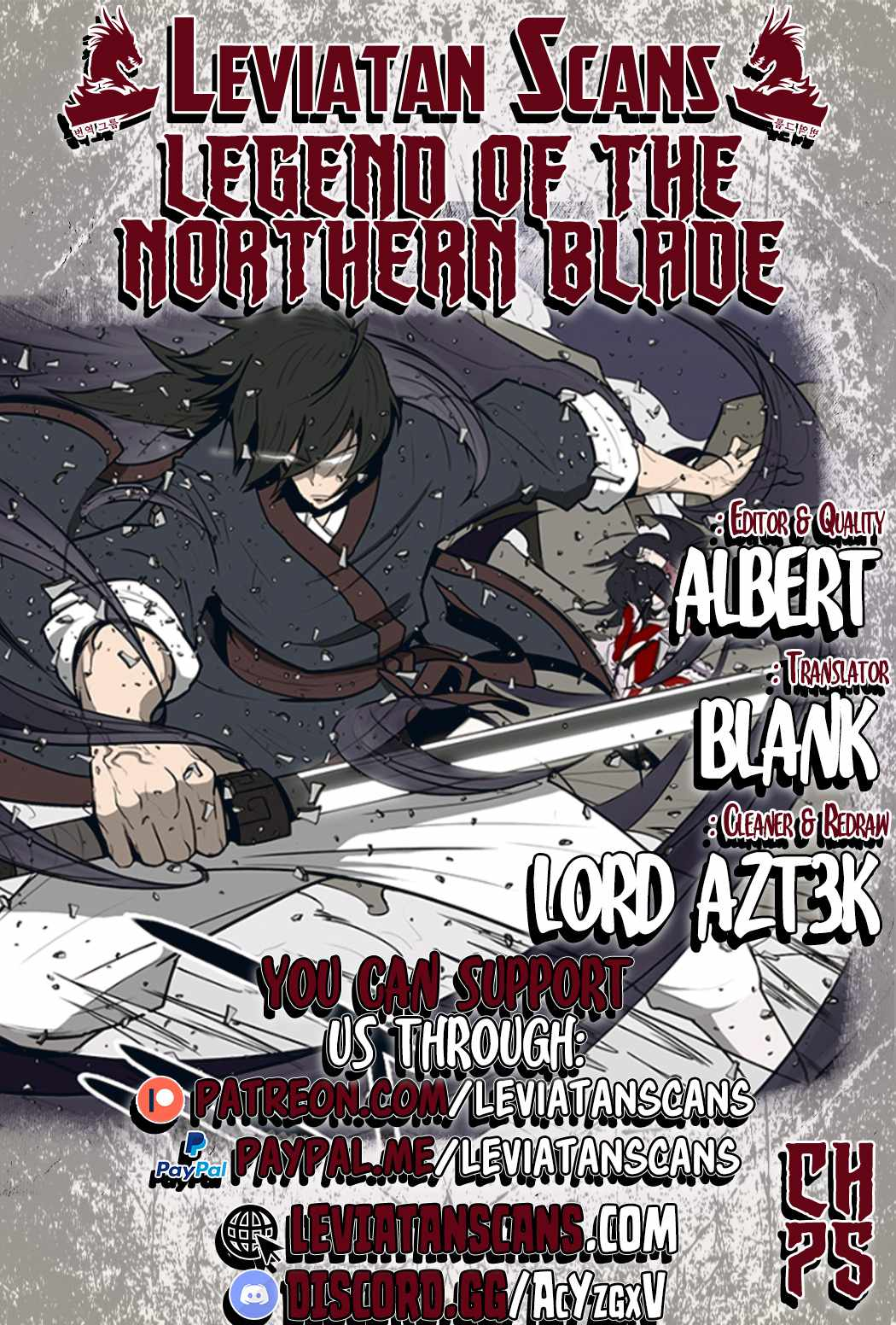 Legend of the Northern Blade - chapter 75-eng-li