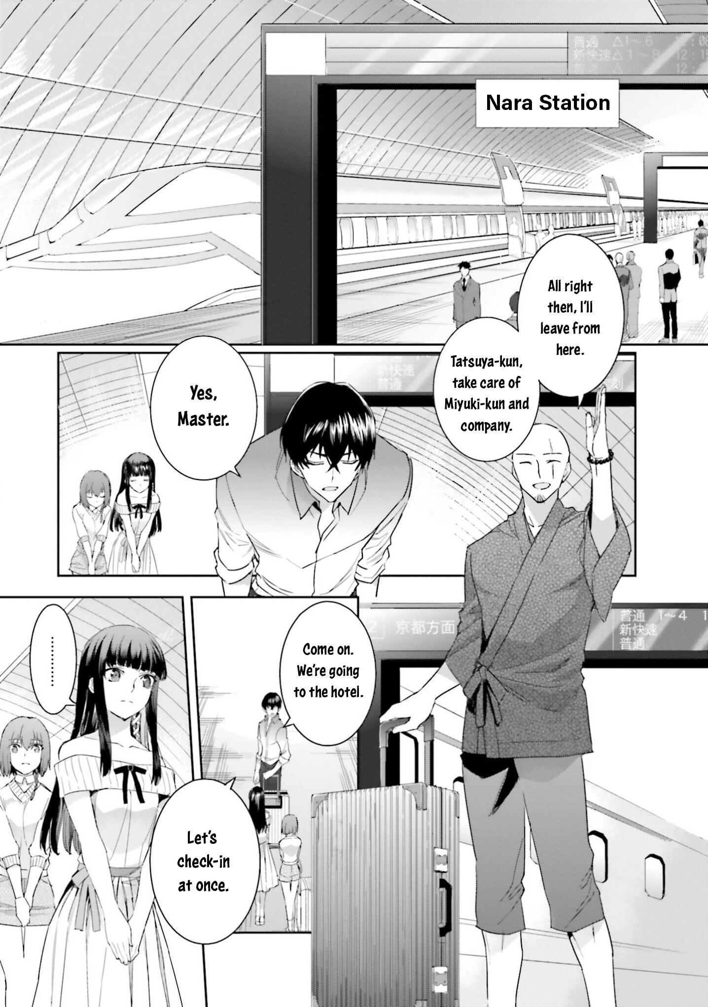 Mahouka Koukou no Rettousei - Steeplechase-hen - chapter 6-eng-li