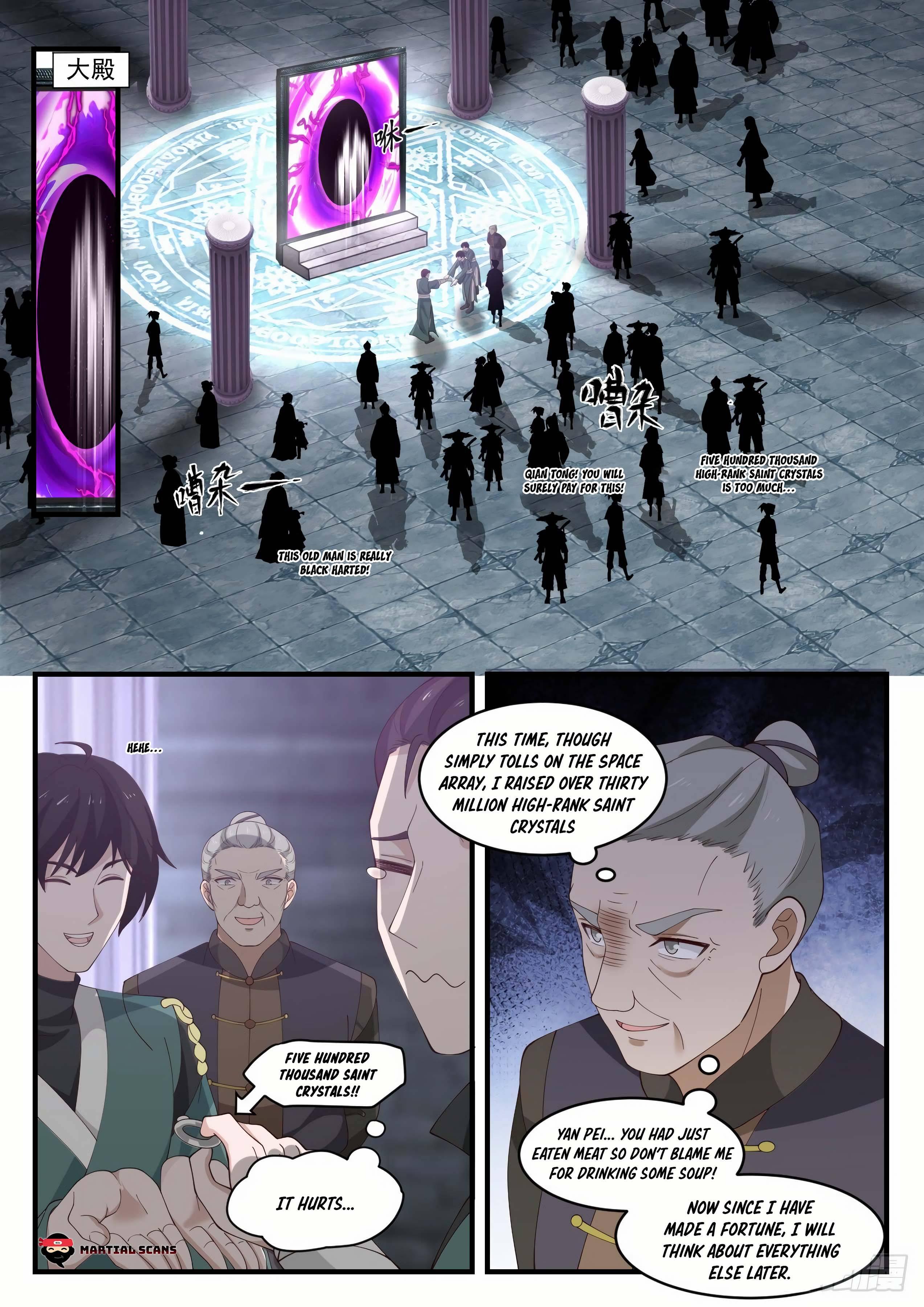 Martial Peak - chapter 1052-eng-li