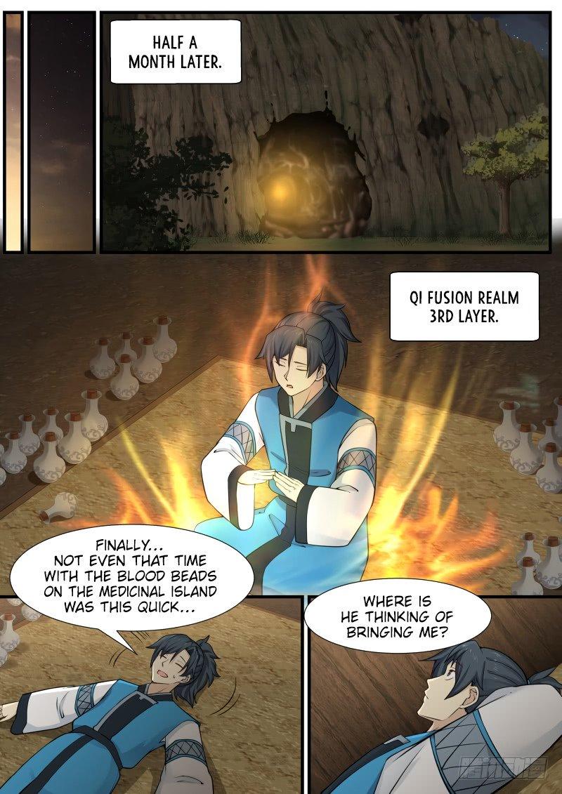 Martial Peak - chapter 141-eng-li