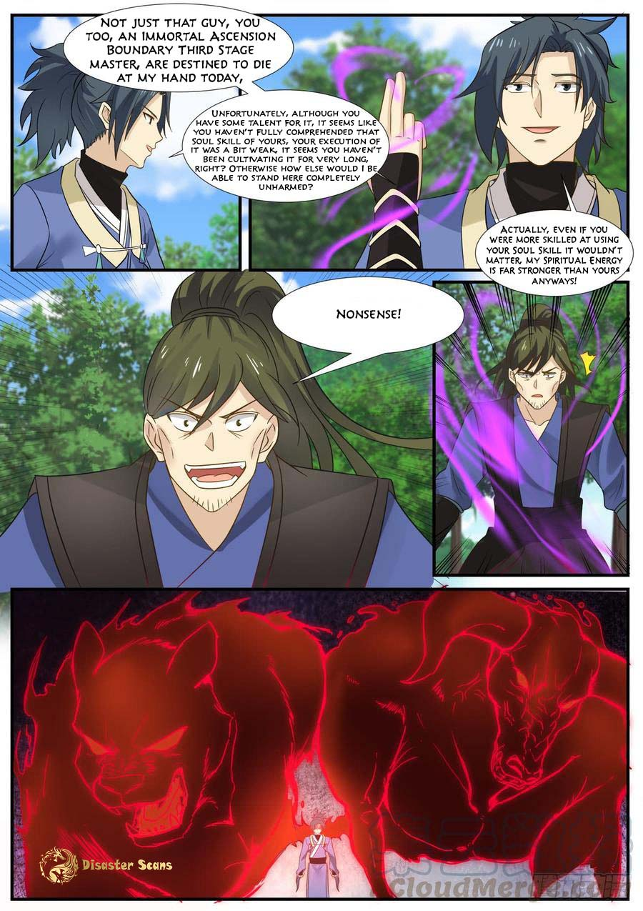 Martial Peak - chapter 323-eng-li
