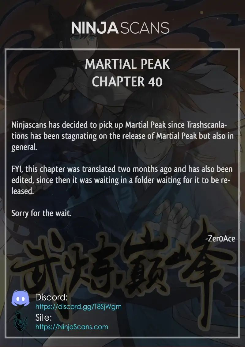 Martial Peak - chapter 40-eng-li