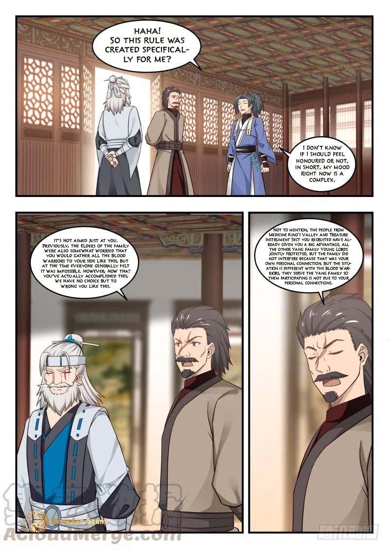 Martial Peak - chapter 445-eng-li