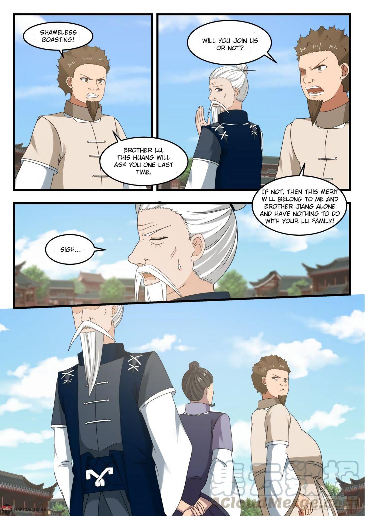 Martial Peak - chapter 539-eng-li
