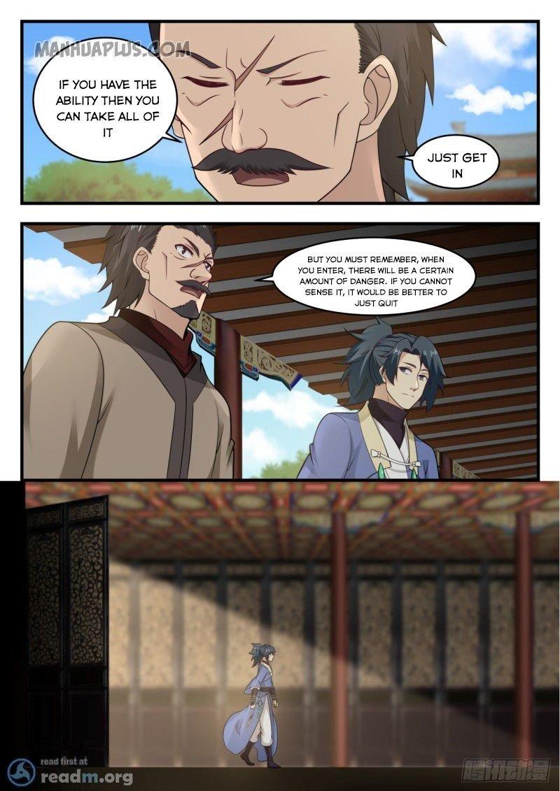 Martial Peak - chapter 553-eng-li