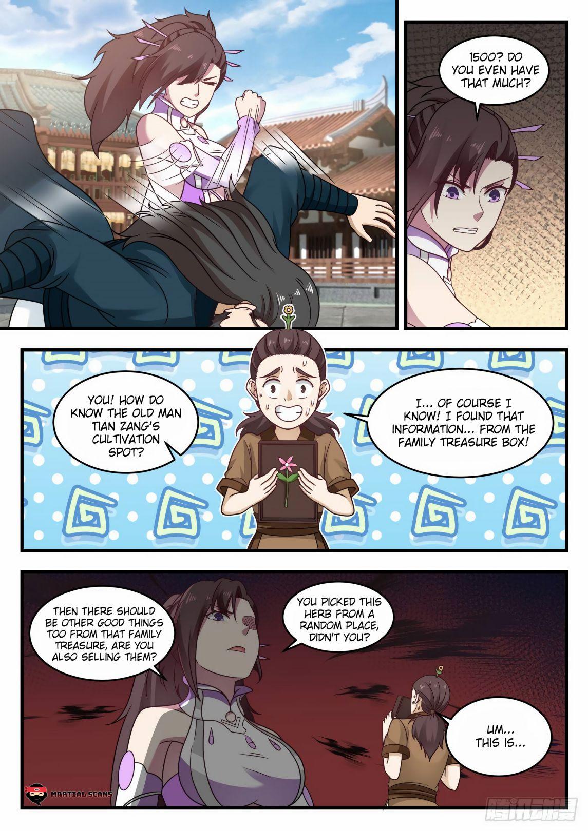 Martial Peak - chapter 593-eng-li