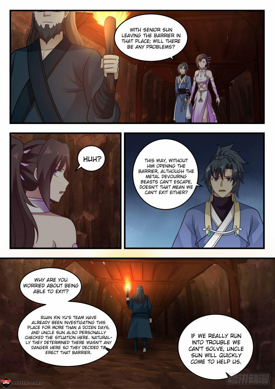 Martial Peak - chapter 597-eng-li