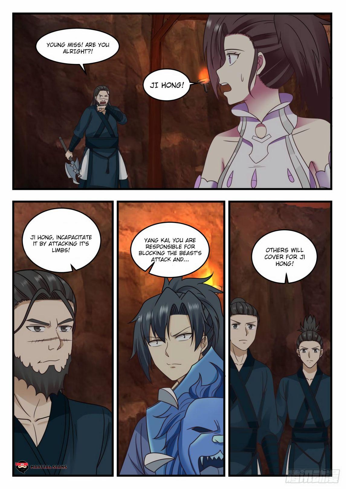 Martial Peak - chapter 599-eng-li