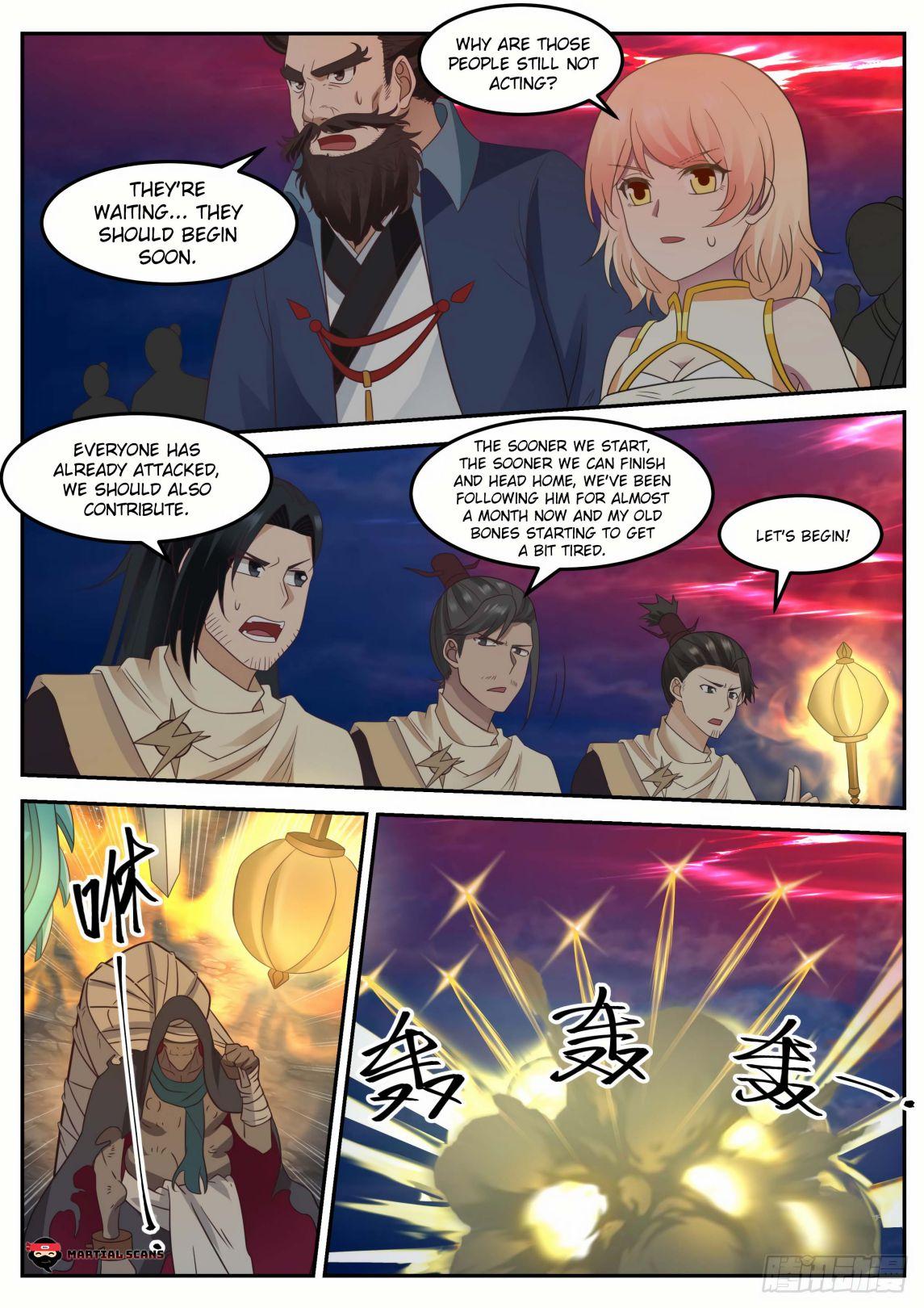 Martial Peak - chapter 611-eng-li