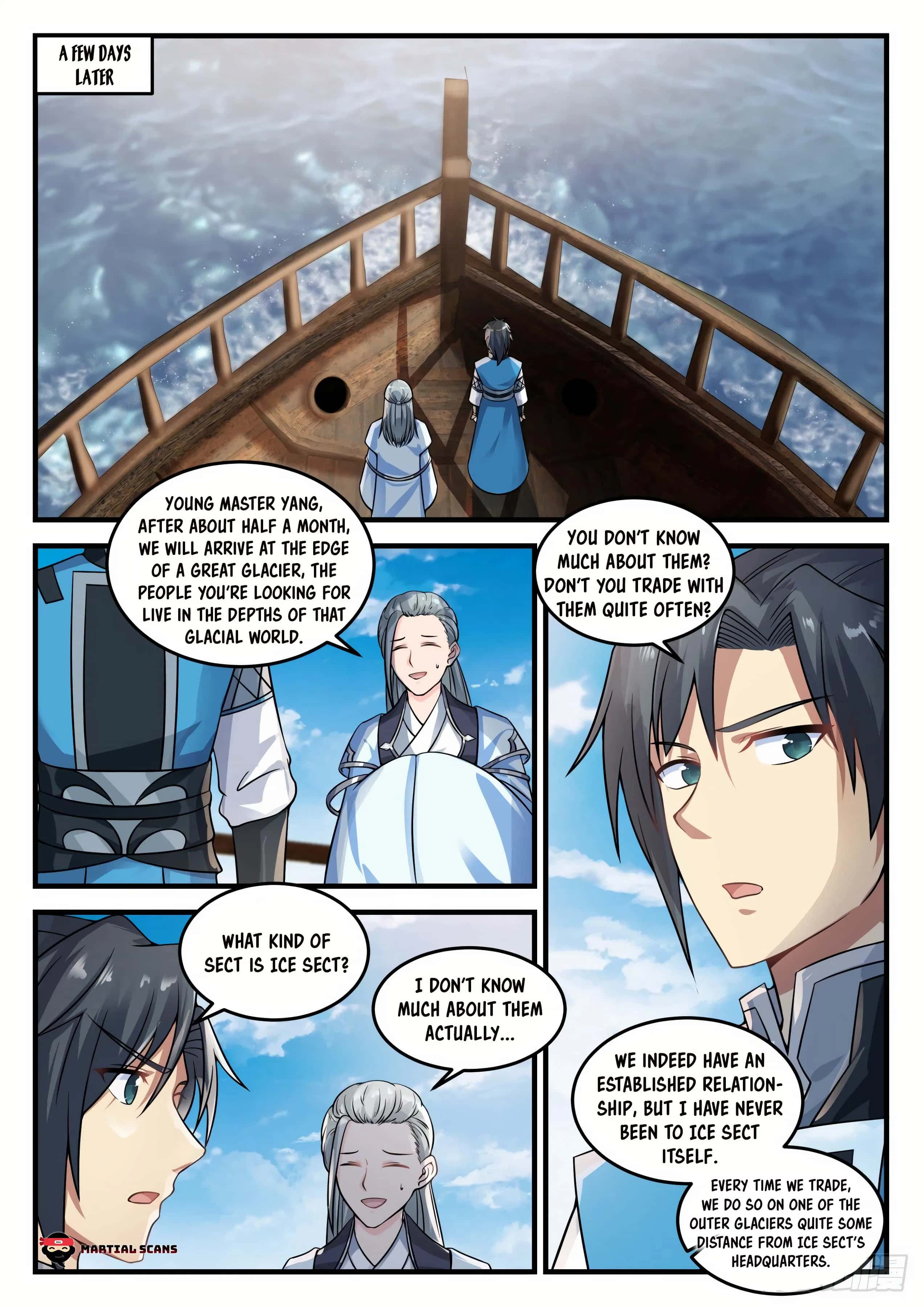 Martial Peak - chapter 692-eng-li