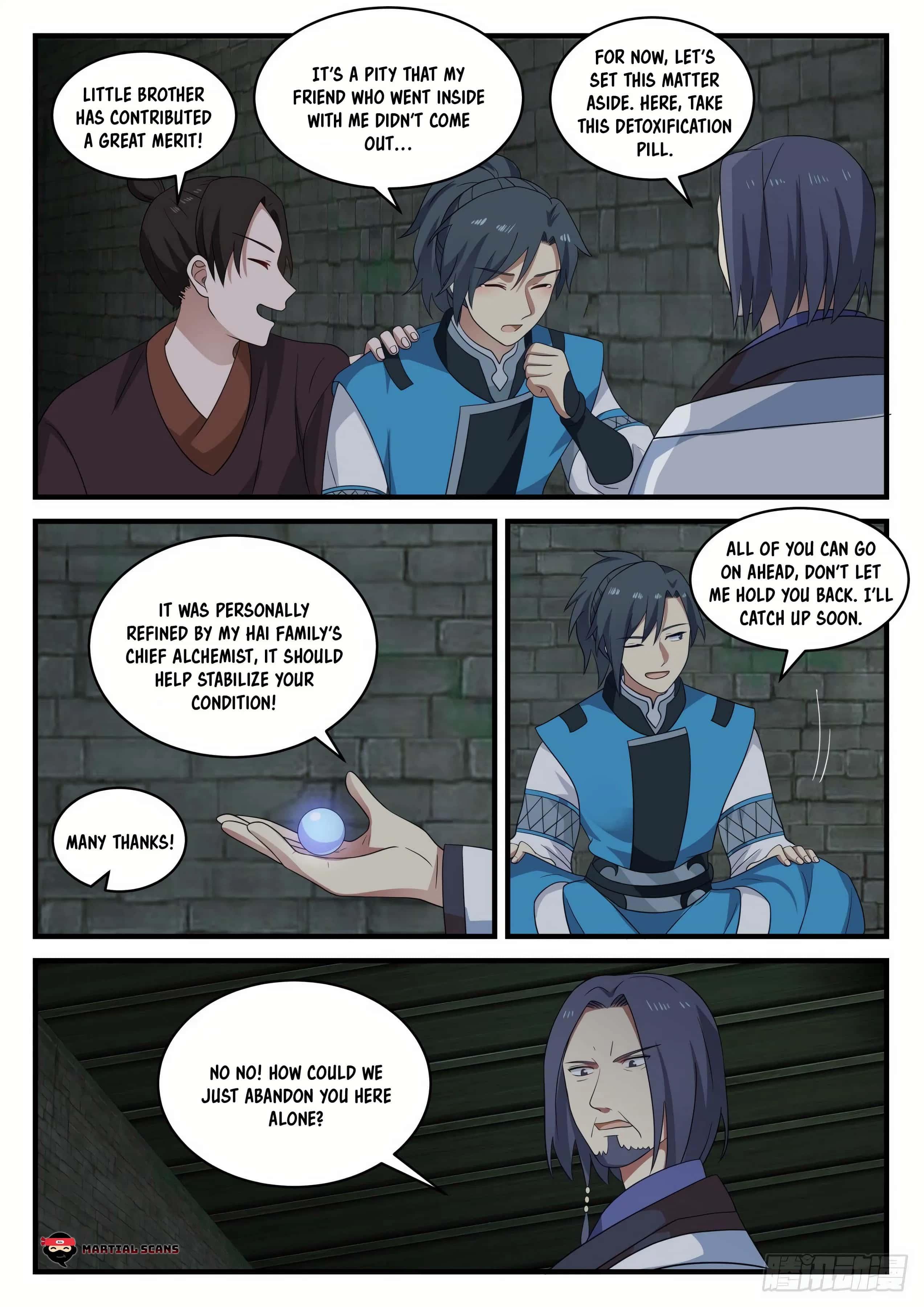 Martial Peak - chapter 701-eng-li